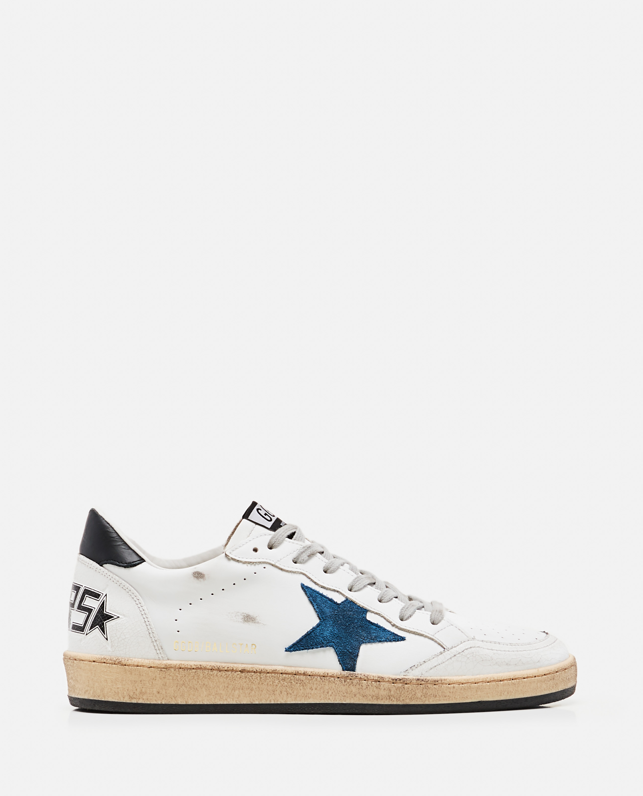 Golden Goose Leathers GOLDEN GOOSE BALLSTAR SNEAKERS IN LEATHER