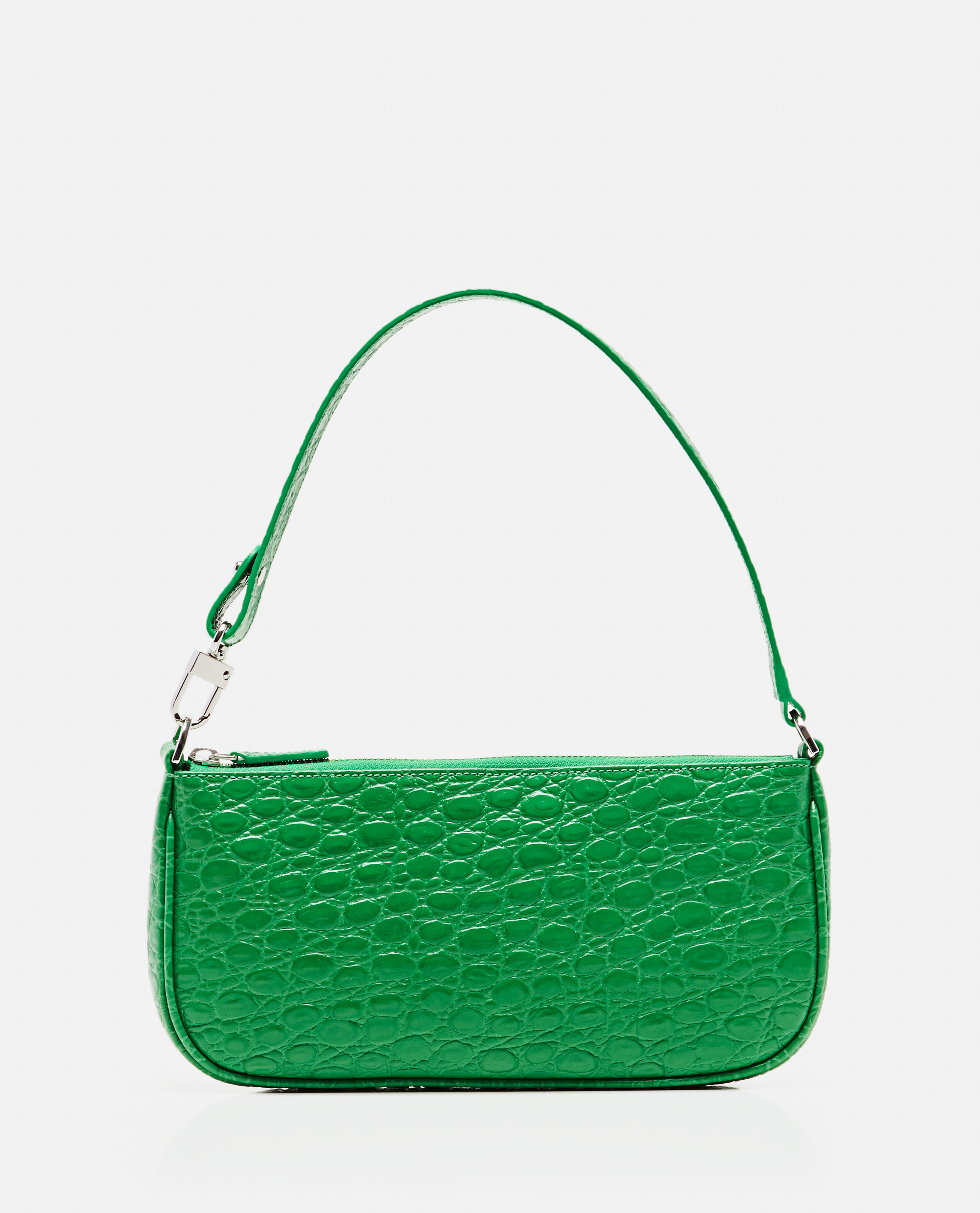 By Far Leathers BY FAR TOTE BAG WITH CROCODILE PRINT