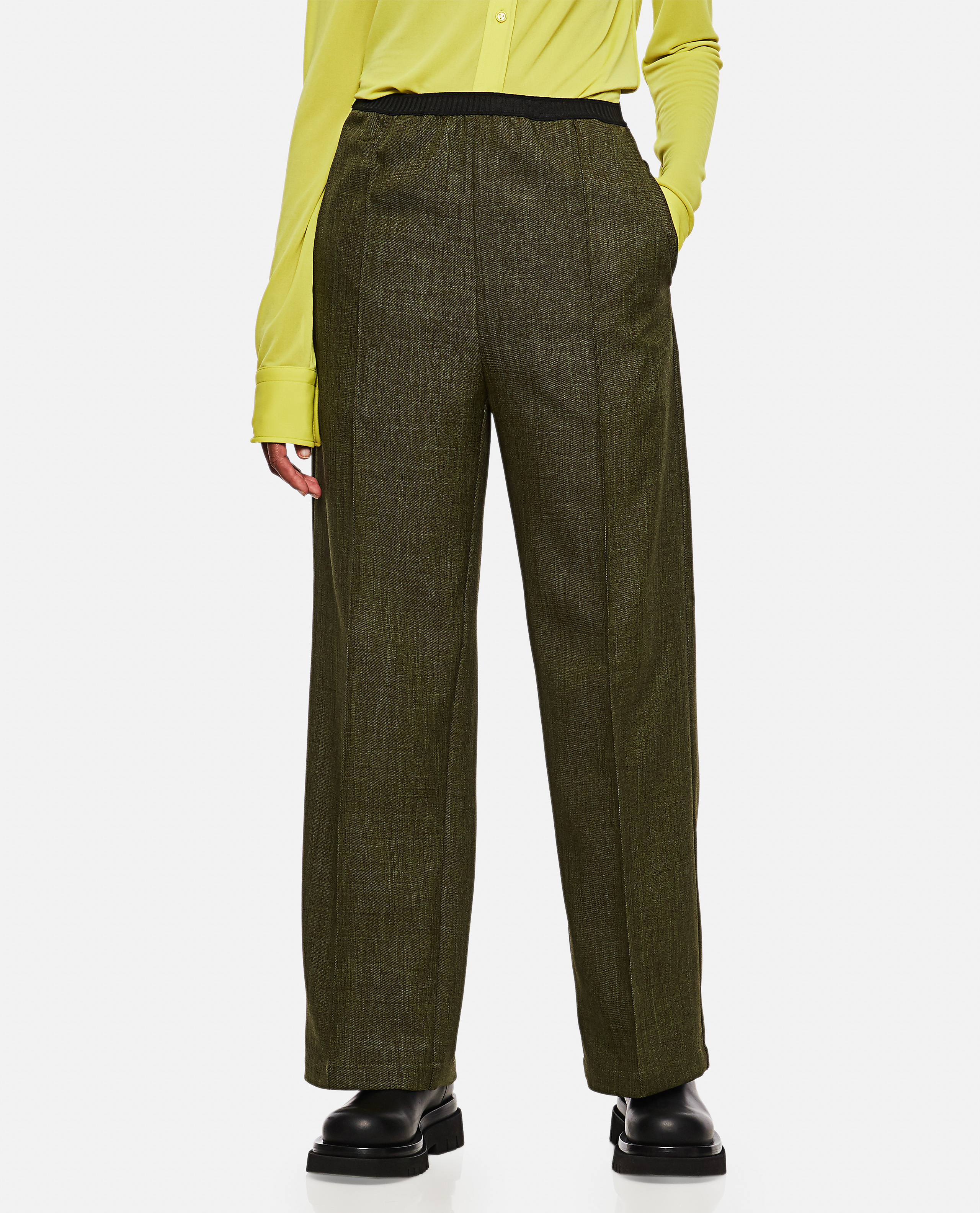 Long comfortable fit trousers