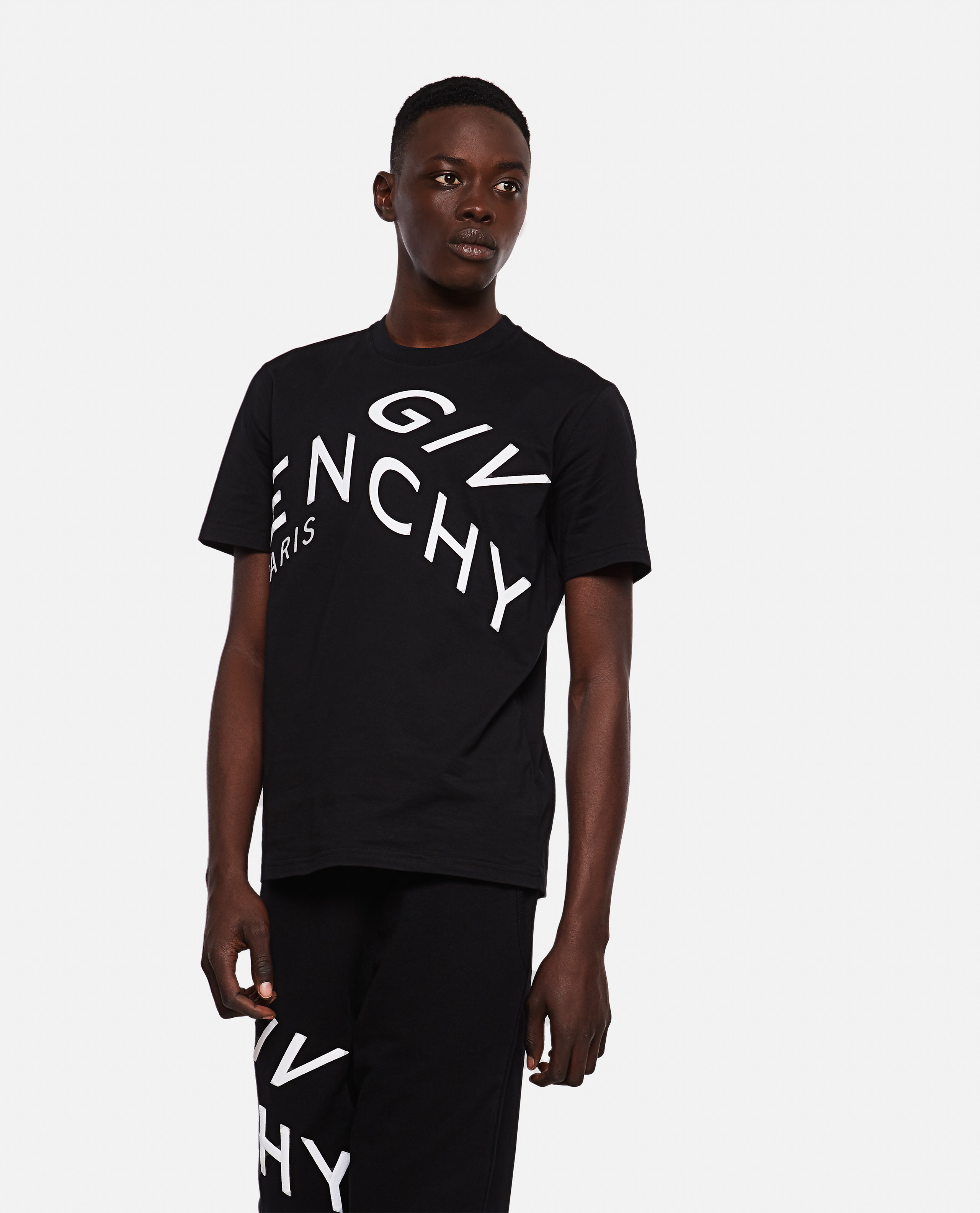 Givenchy Cottons GIVENCHY T-SHIRT WITH EMBROIDERY