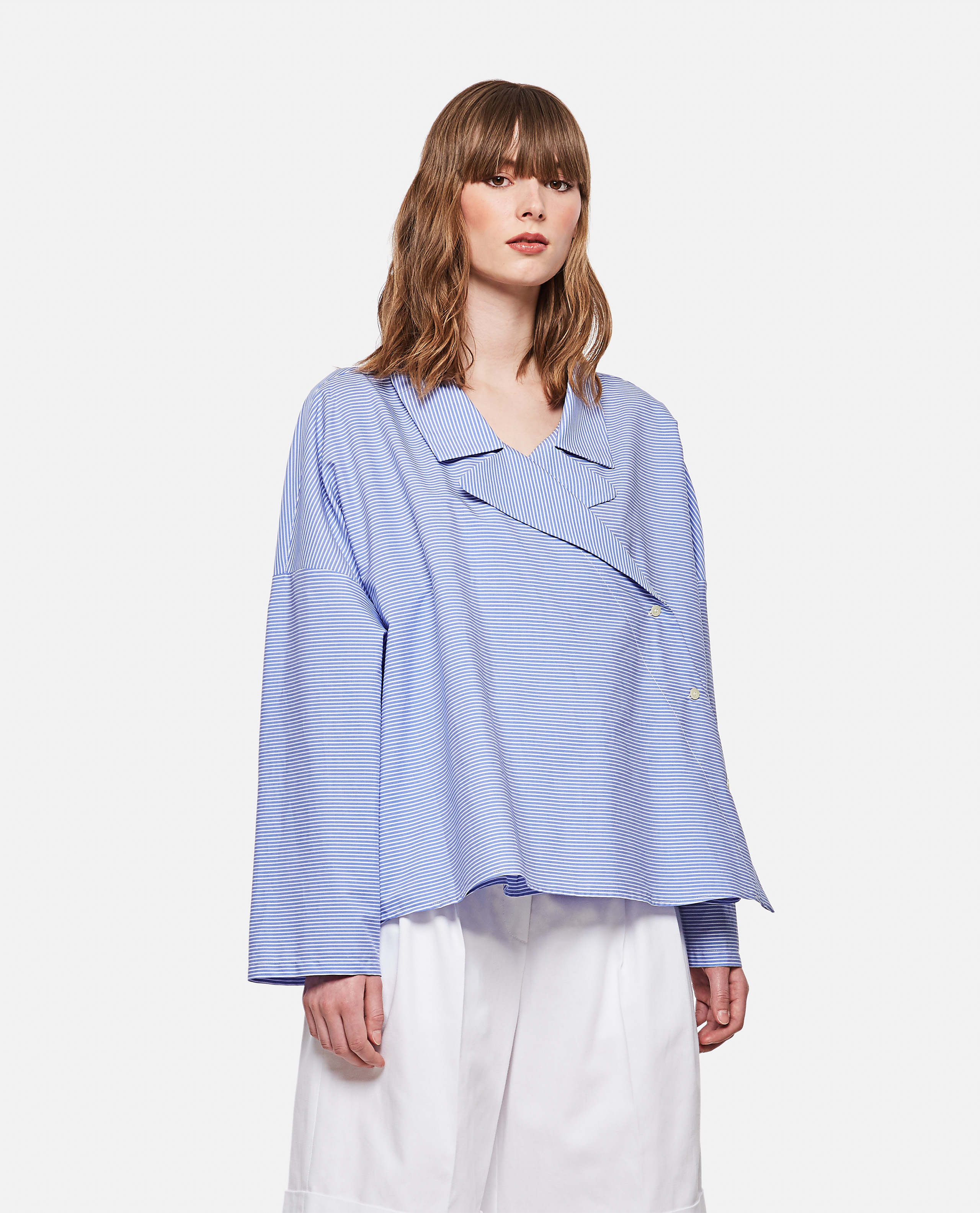 Jejia JEJIA ASYMMETRICAL COTTON SHIRT