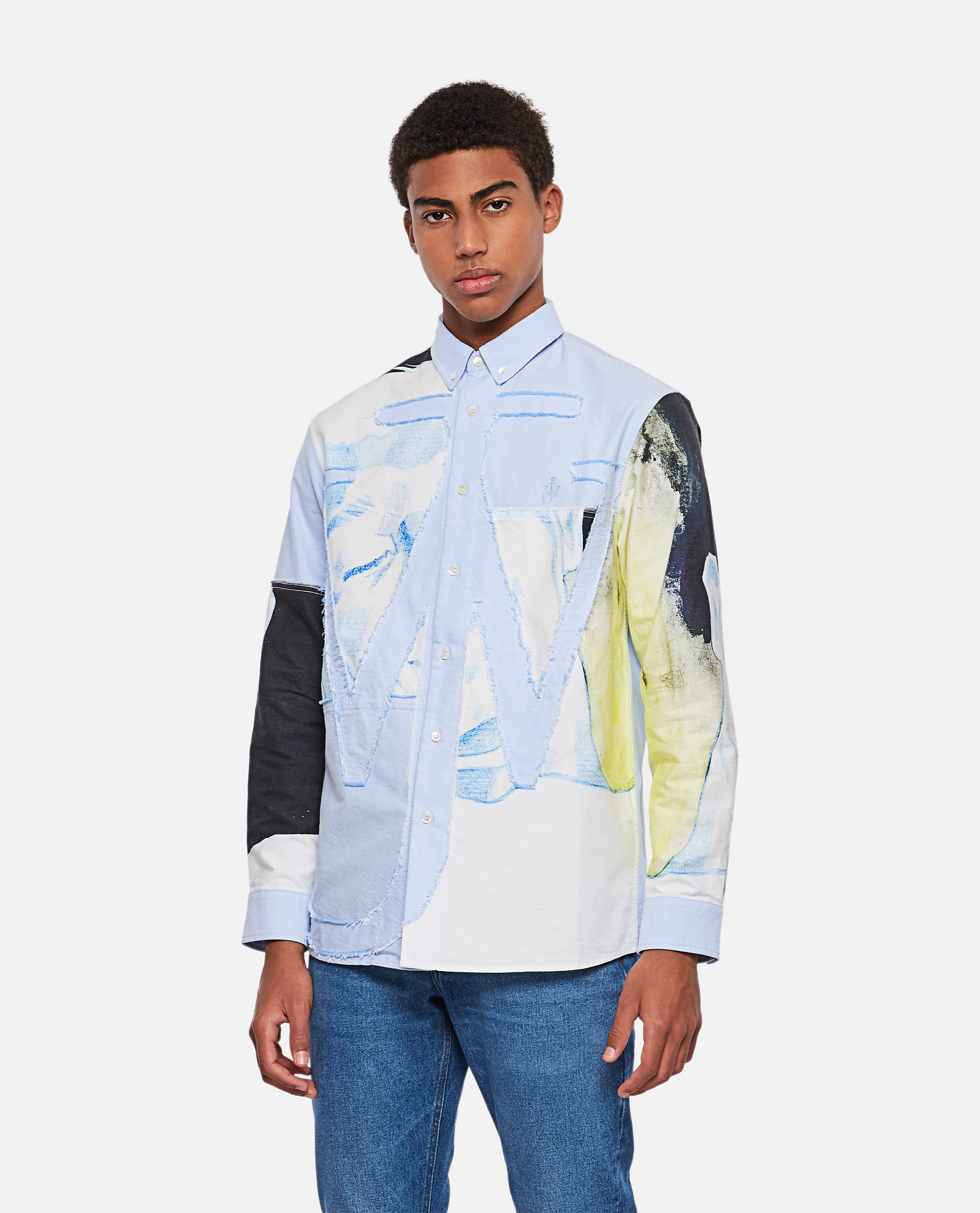 Jw Anderson Shirts J.W. ANDERSON COTTON SHIRT WITH PRINT