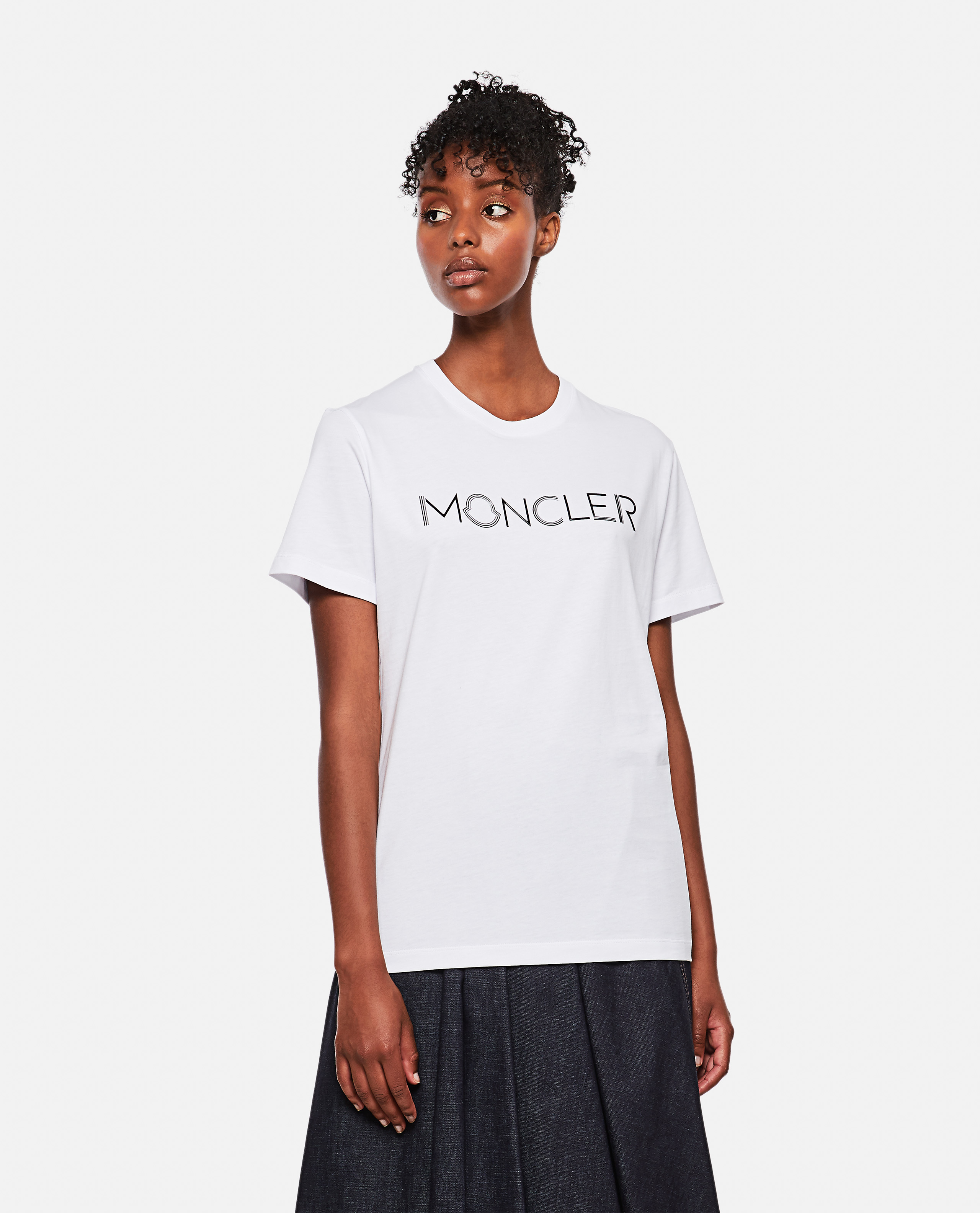 Moncler MONCLER T-SHIRT WITH LOGO