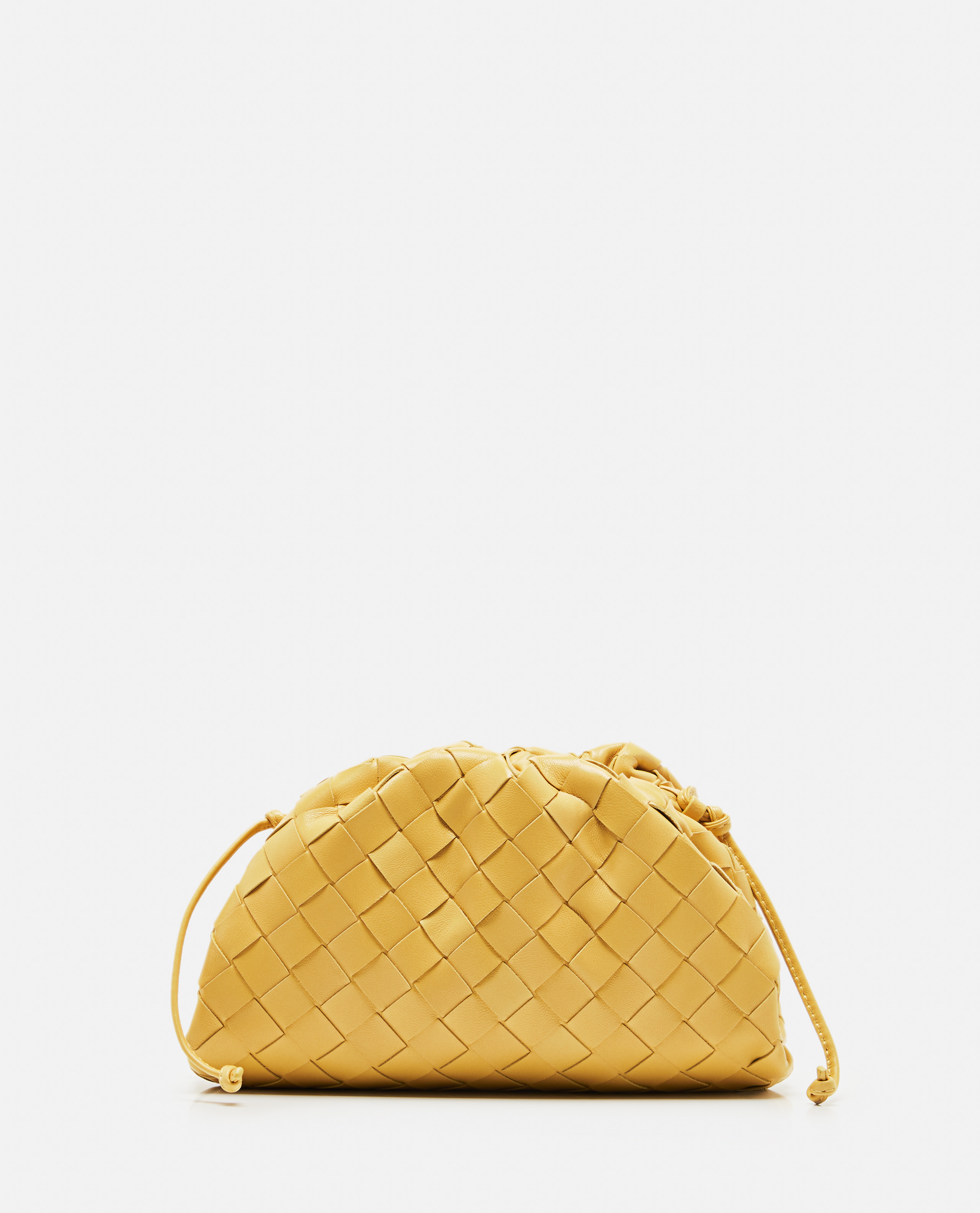 The Pouch 20 clutch in woven leather