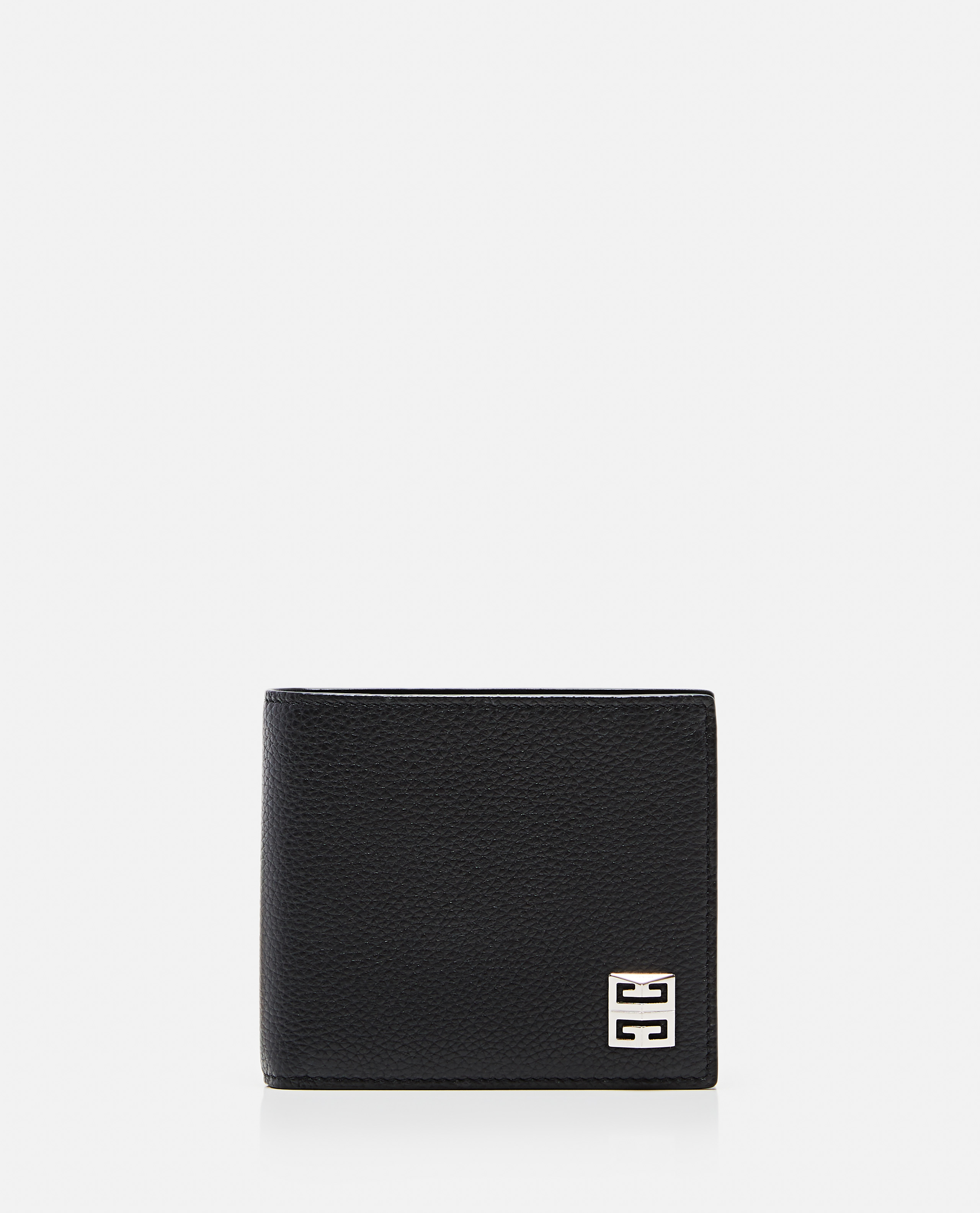 GIVENCHY GIVENCHY 4CC  GRAINED LEATHER COIN WALLET