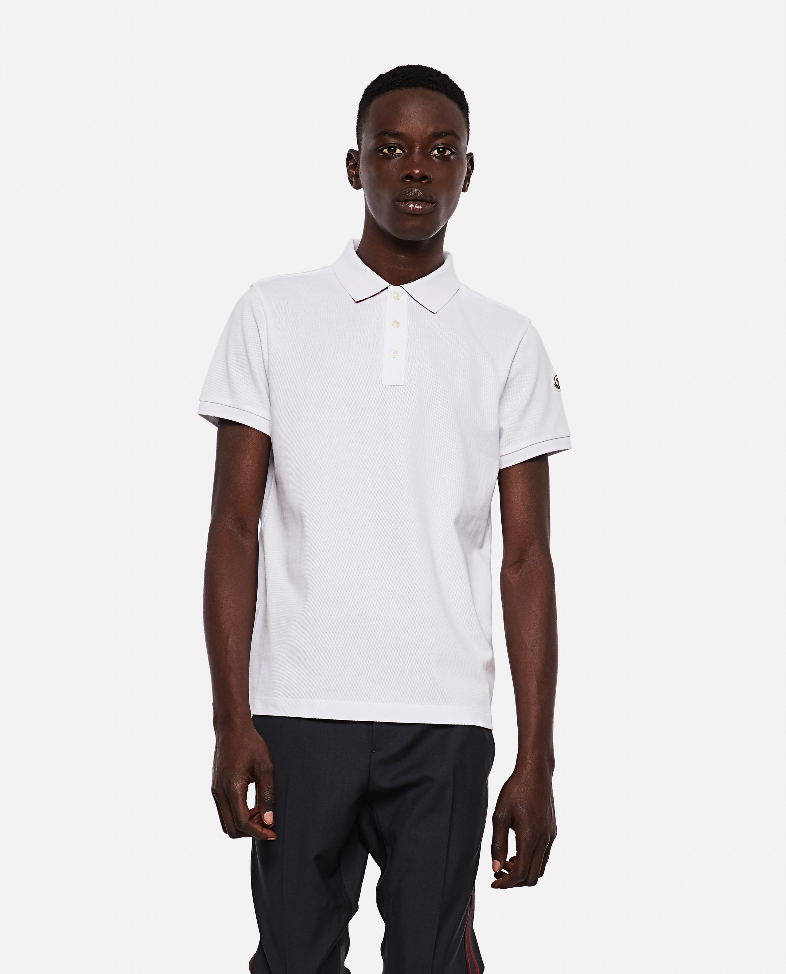 Moncler MONCLER COTTON POLO SHIRT