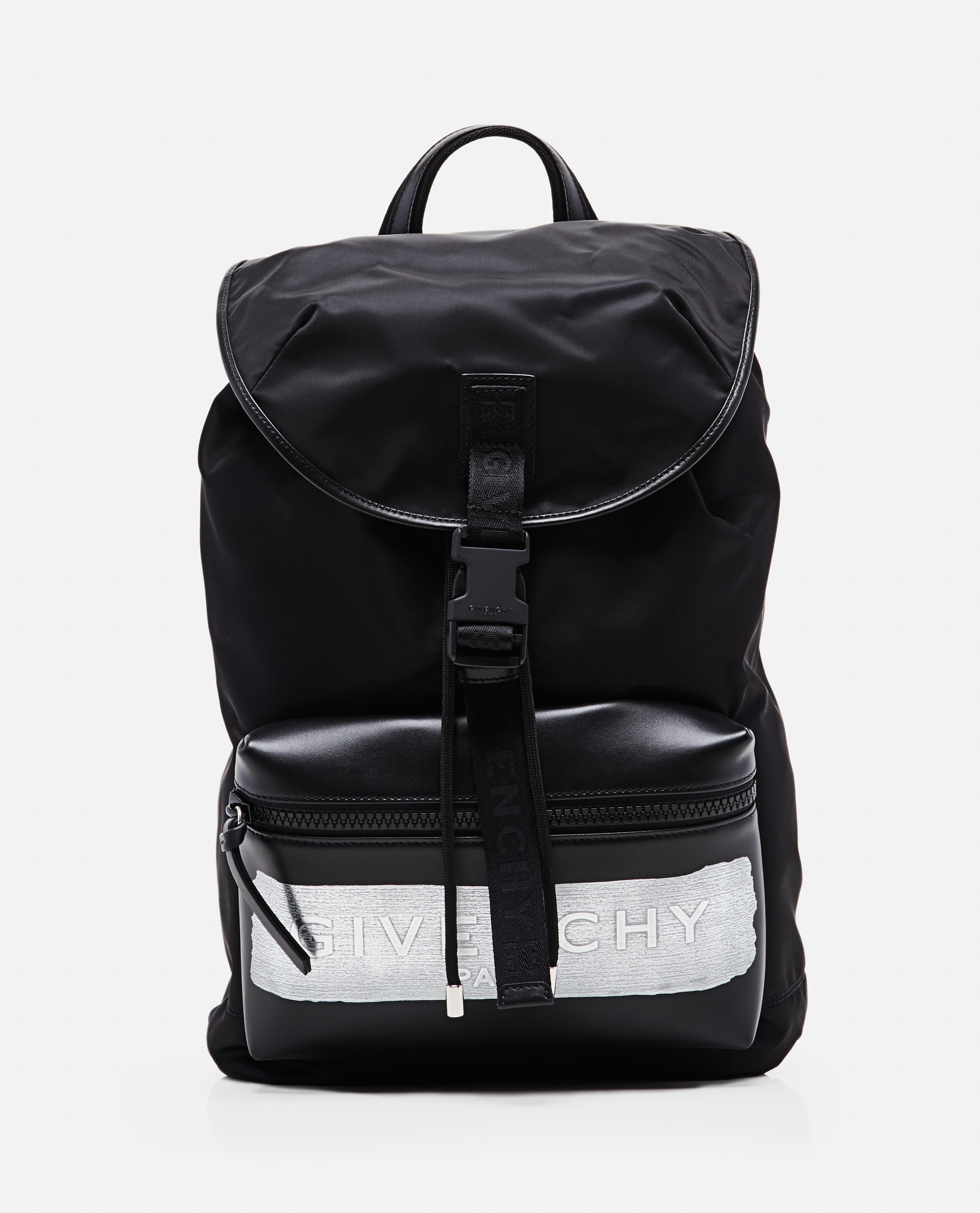 Givenchy Light 3 Nylon Backpack In Black