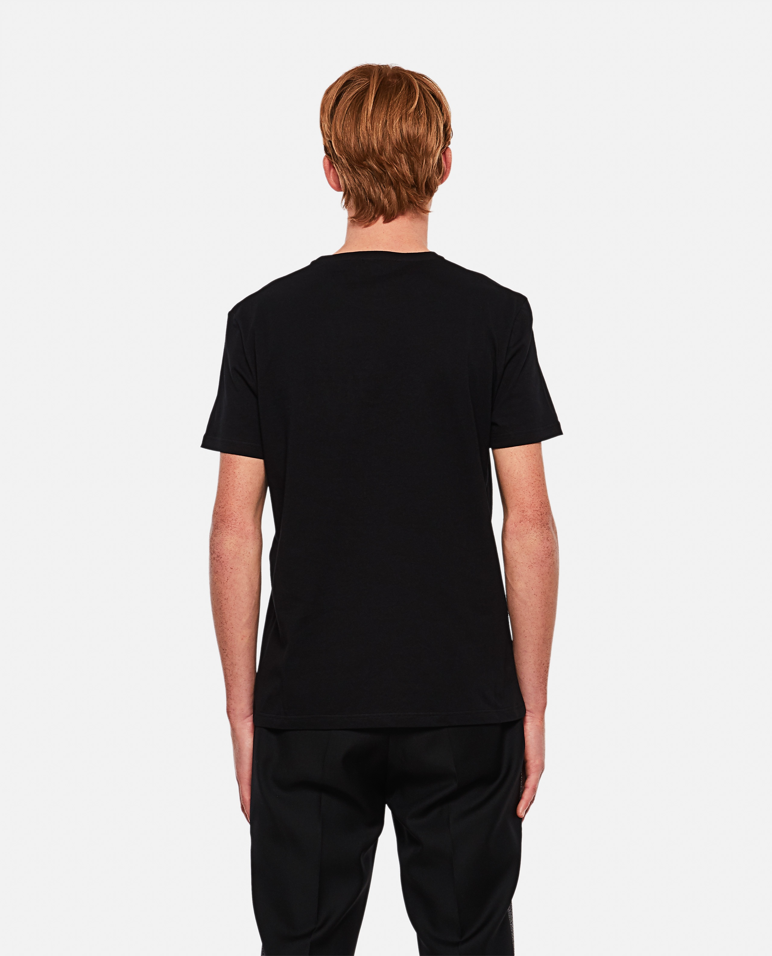 T-shirt with embroidery Men Alexander McQueen 000291000042842 3