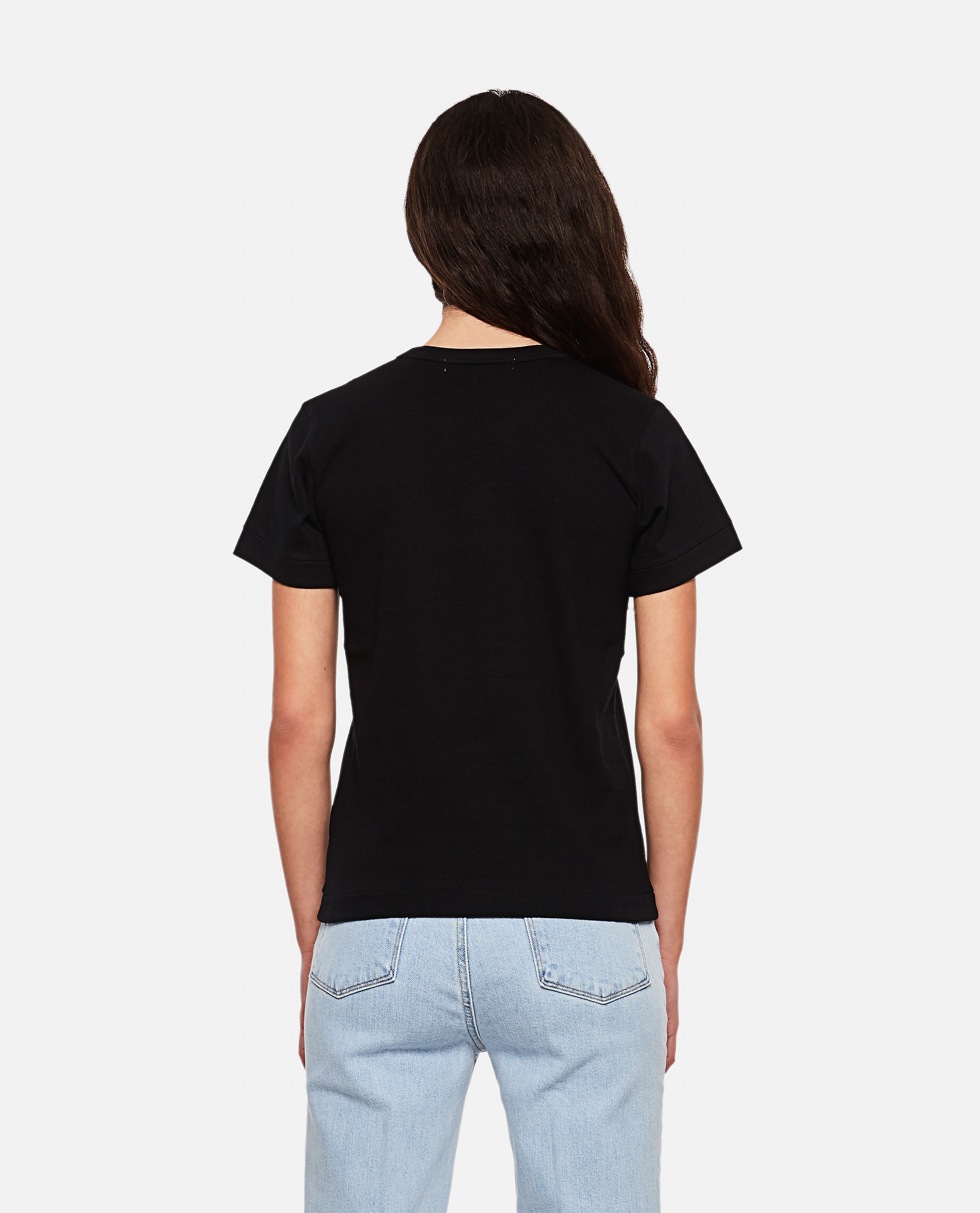 T-shirt with hearts Women Comme des Garcons Play 000267290039439 3