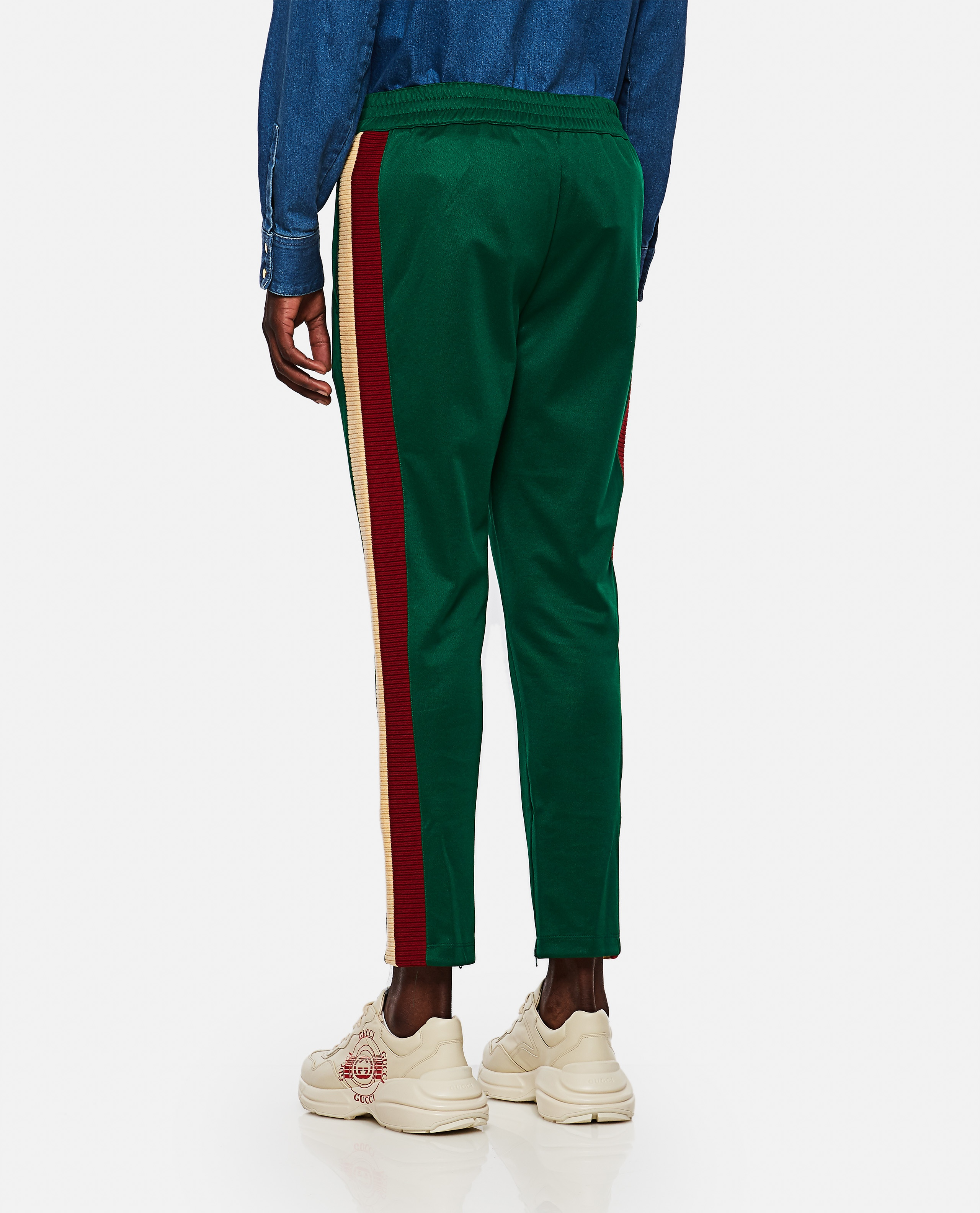 Jogging trousers in technical jersey Men Gucci 000267620039483 3
