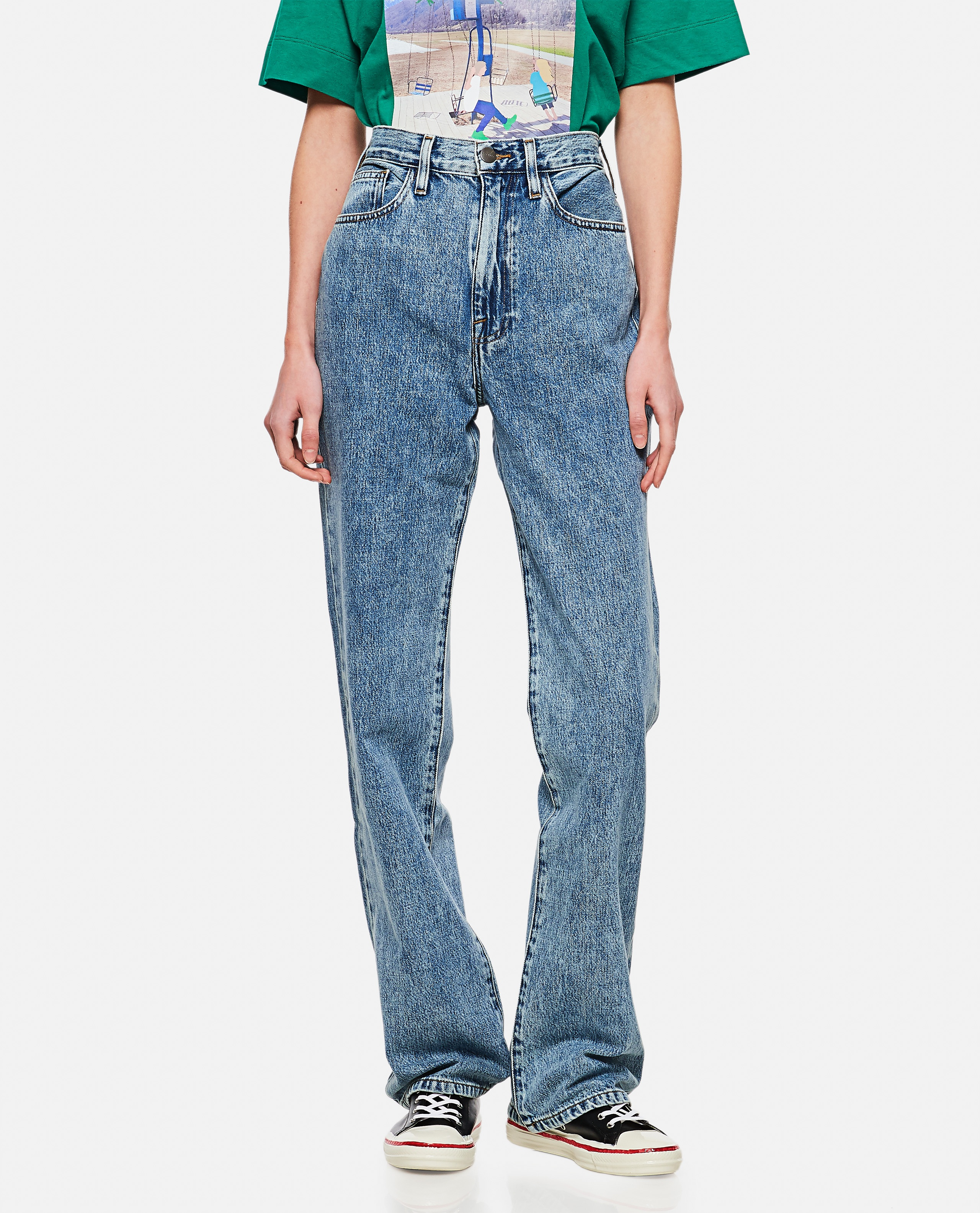 Le Jane high-waisted jeans Donna Frame 000286310042252 1