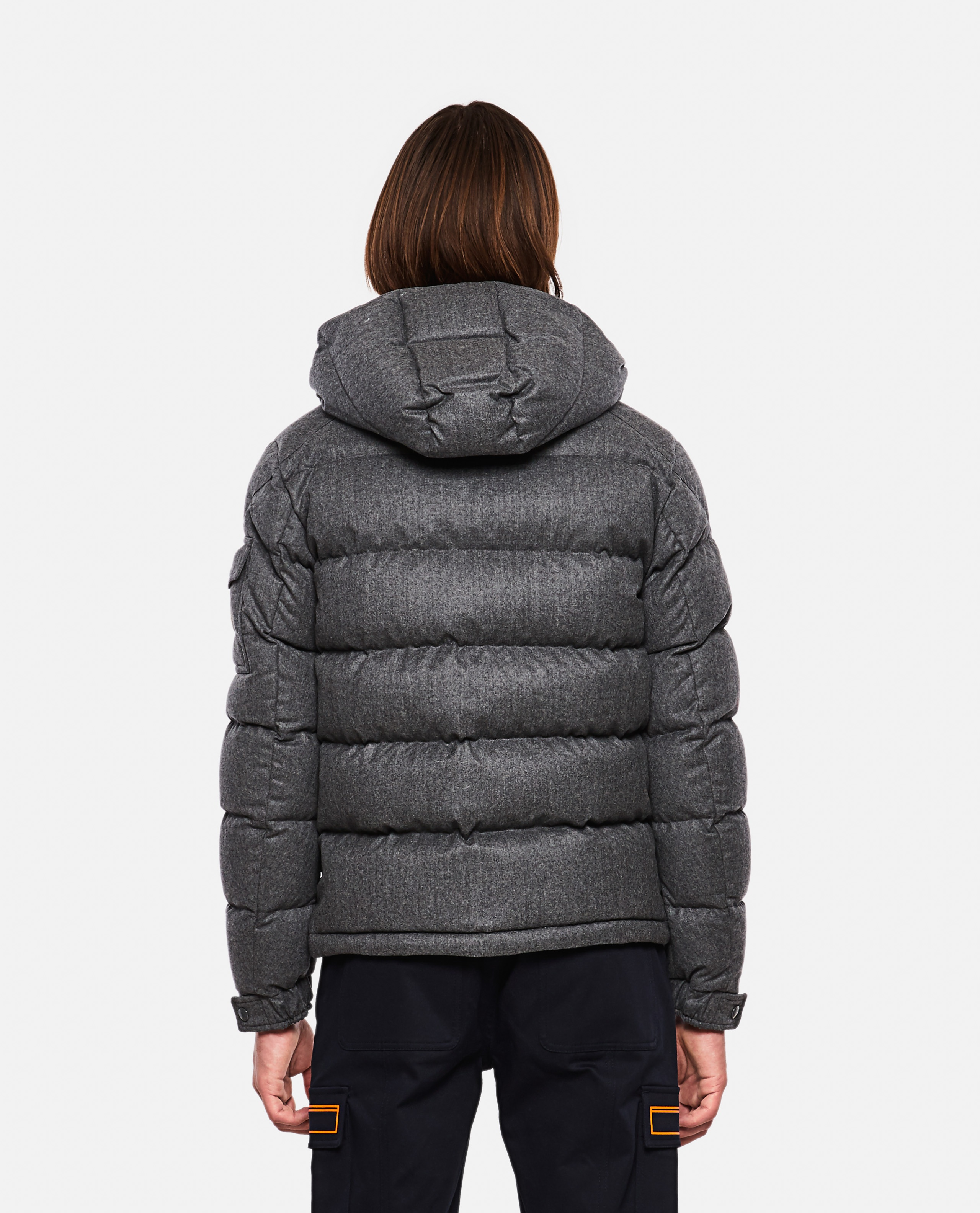 Down jacket with application Men Moncler 000271310039971 3