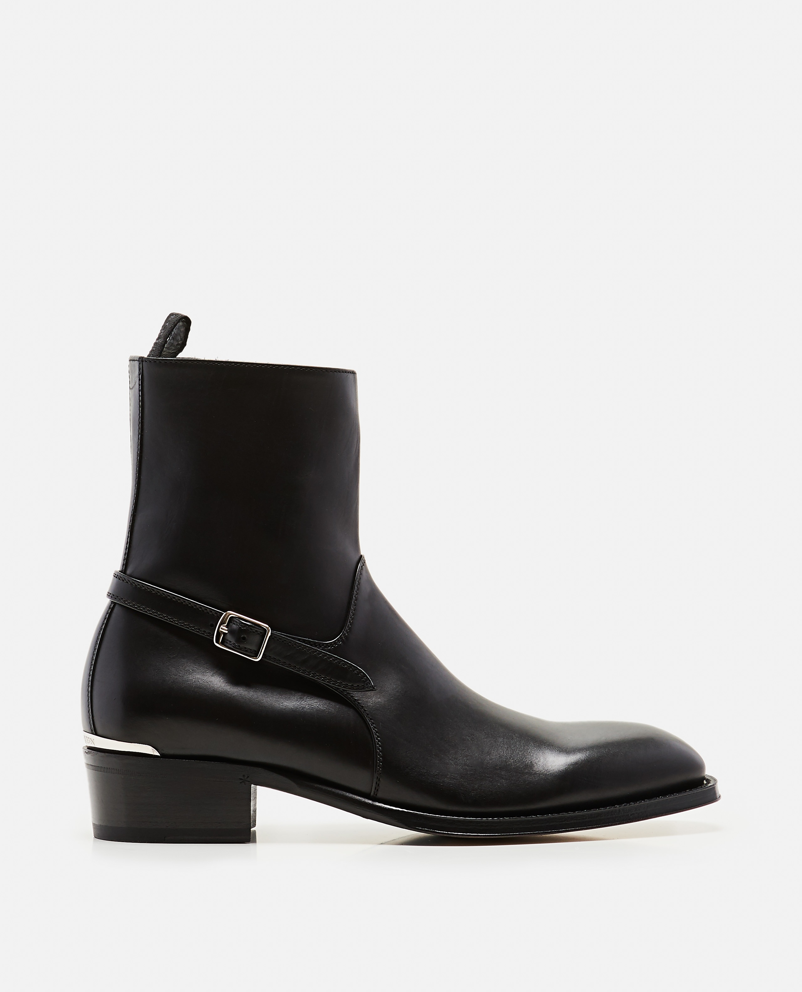 Ankle boots with strap Men Alexander McQueen 000179890026780 1