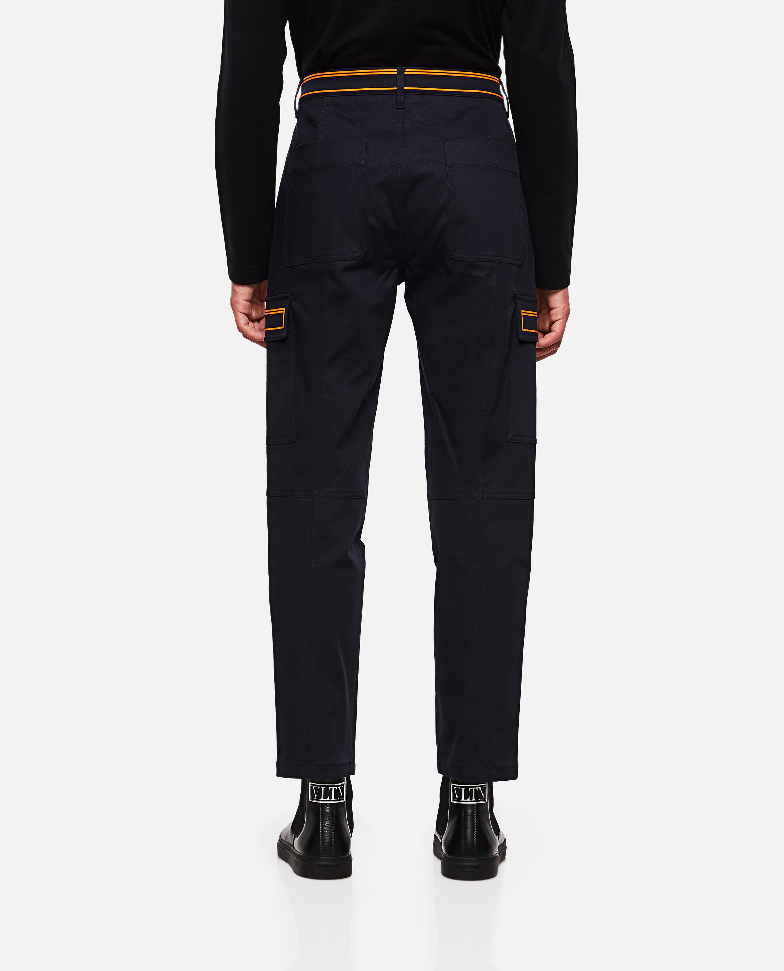 Trousers with contrasting detail Men Valentino 000263550038963 3