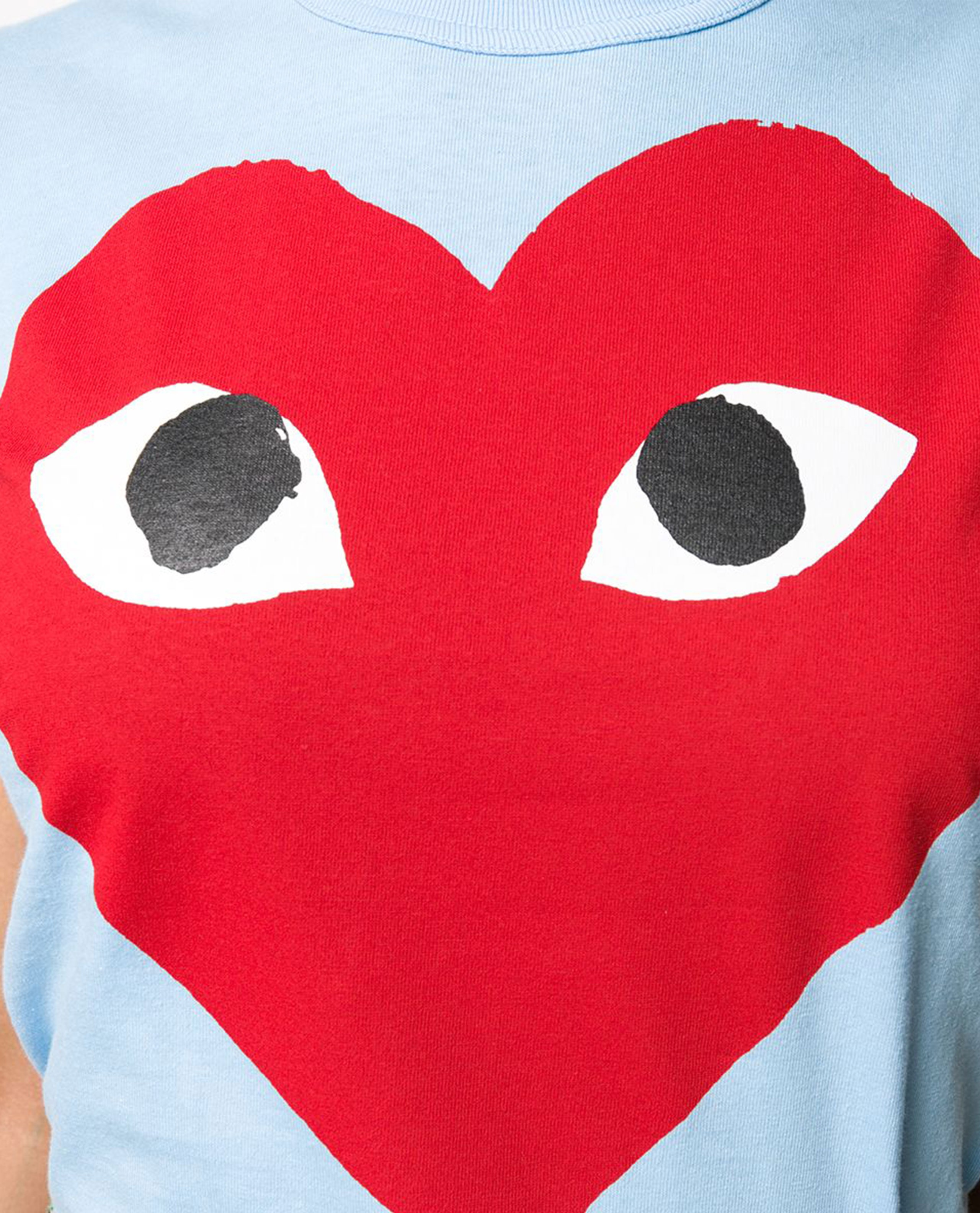 T-shirt con stampa Donna Comme des Garcons Play 000226050033434 2