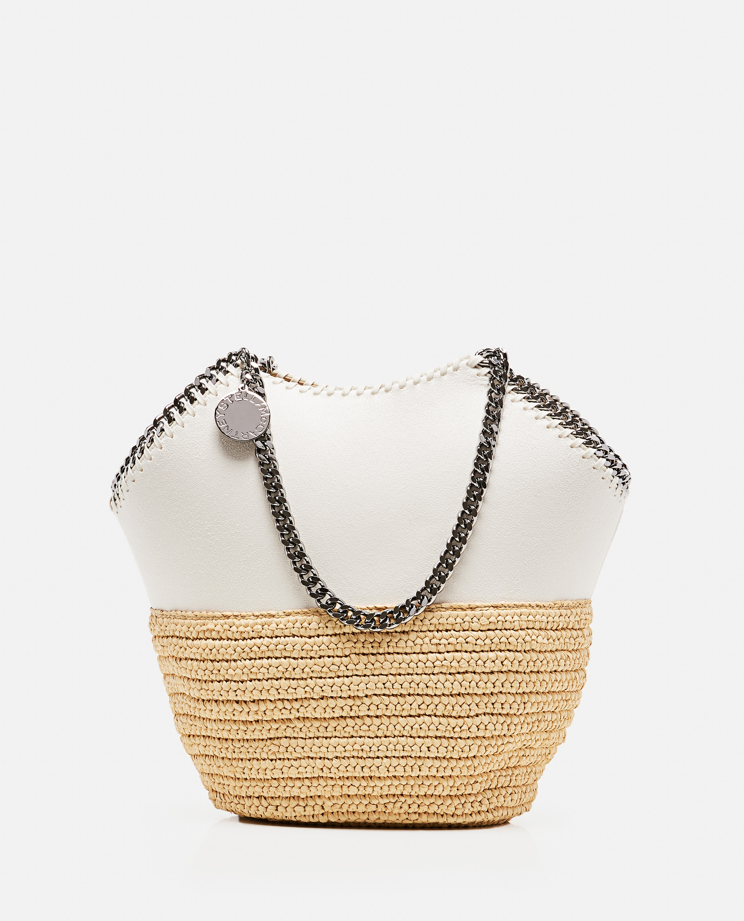 Falabella Tote Media in Rafia Donna Stella McCartney 000308090045179 1