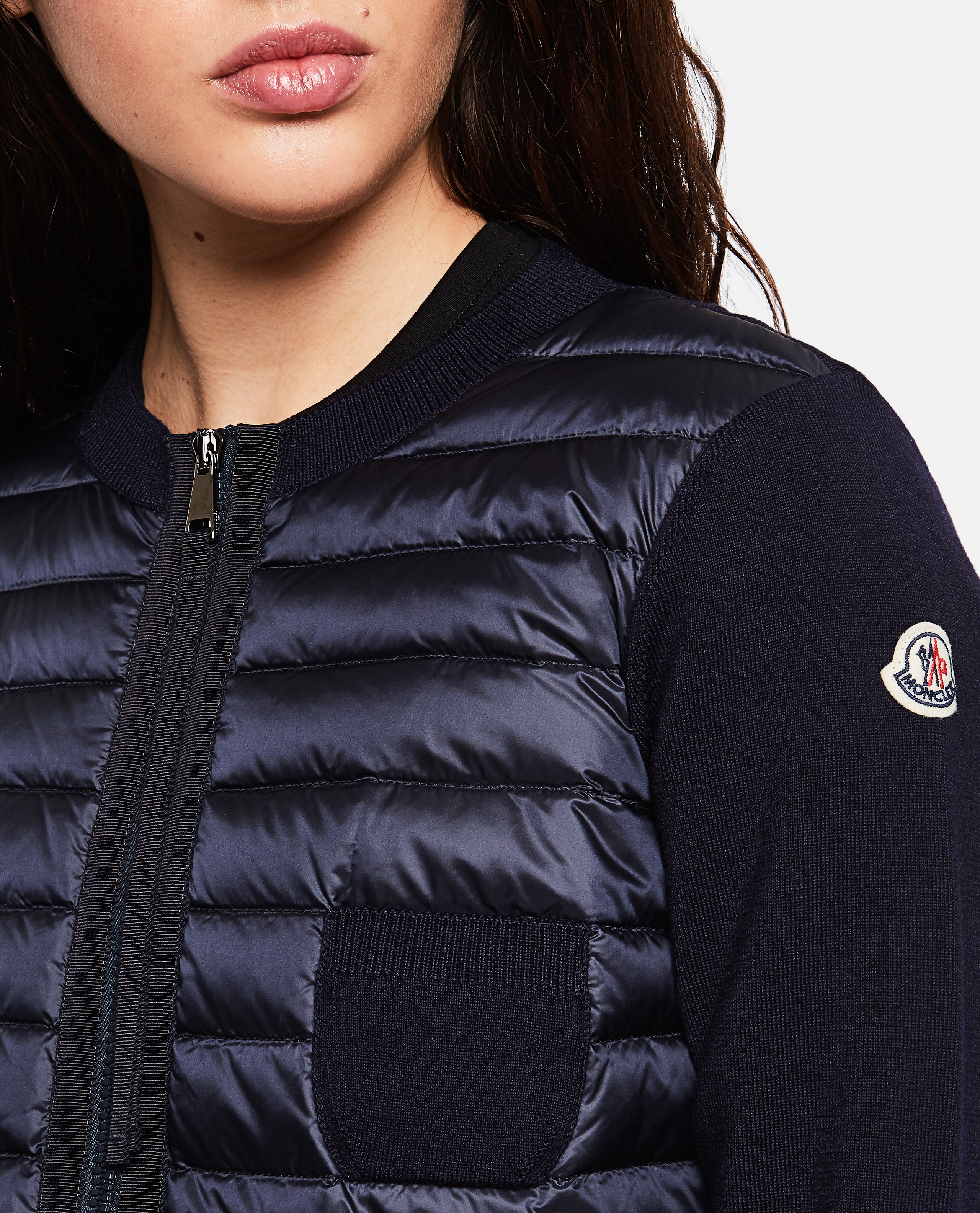 Knitted cardigan Women Moncler 000272090040113 4