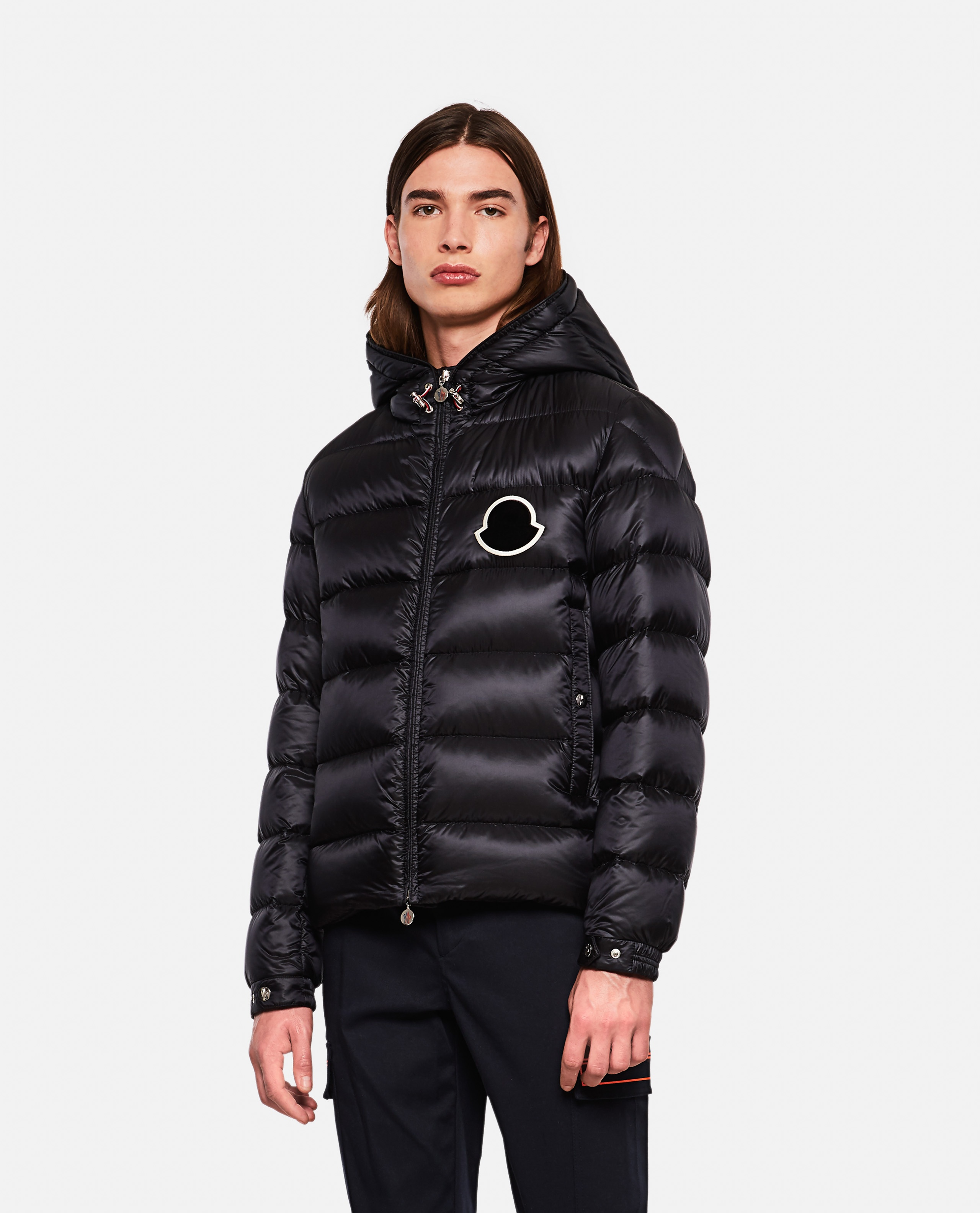 Down jacket with application Men Moncler 000271270039967 1