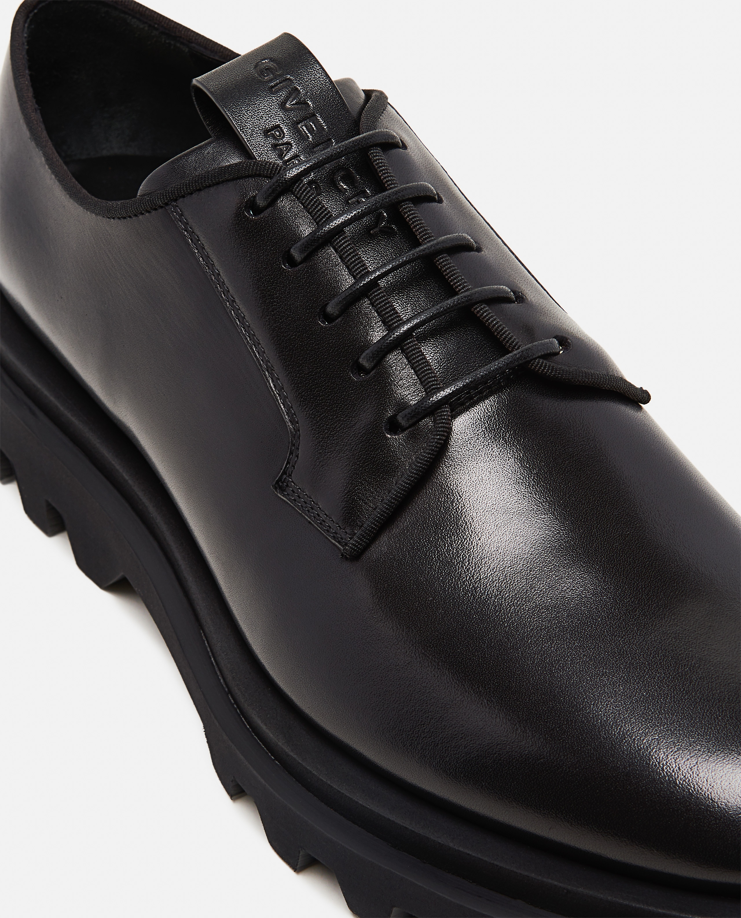 Leather Lace-up derby  Men Givenchy 000301710044313 4