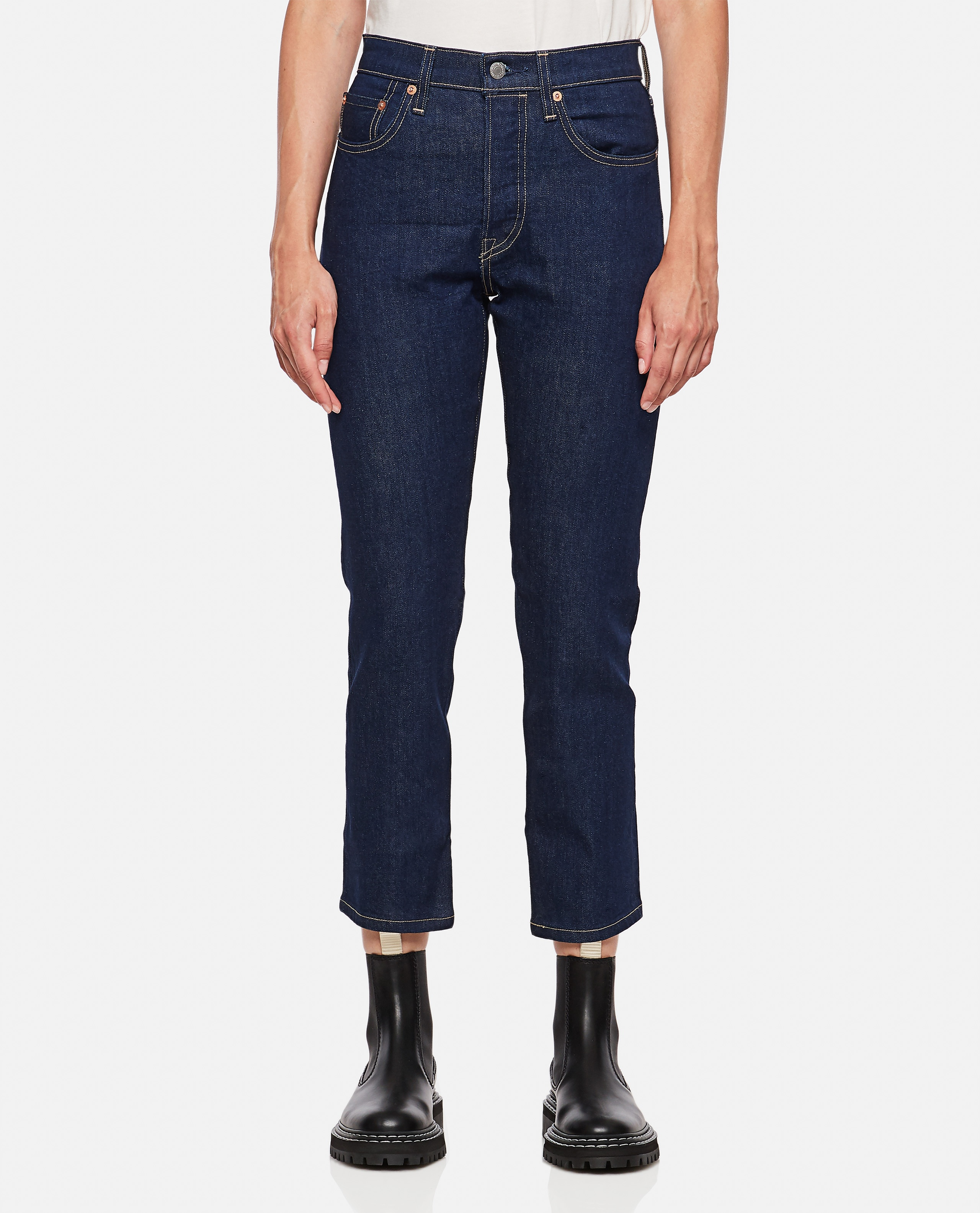 LEVI'S MADE & CRAFTED 501 CROP JEANS Women Levi Strauss & Co. 000352880051346 1