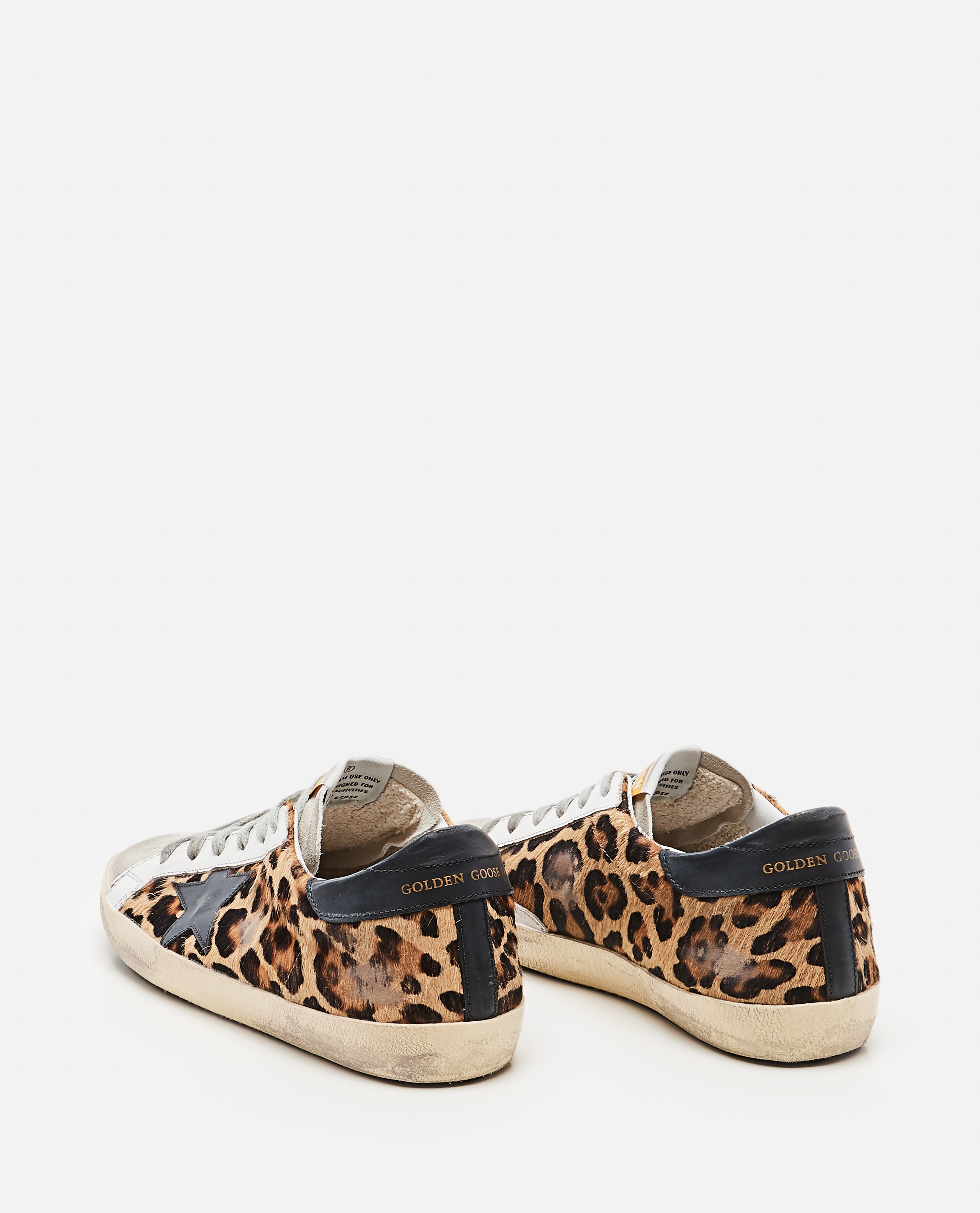 Superstar classic Golden Goose sneakers in spotted pony skin Donna Golden Goose 000286810042304 3