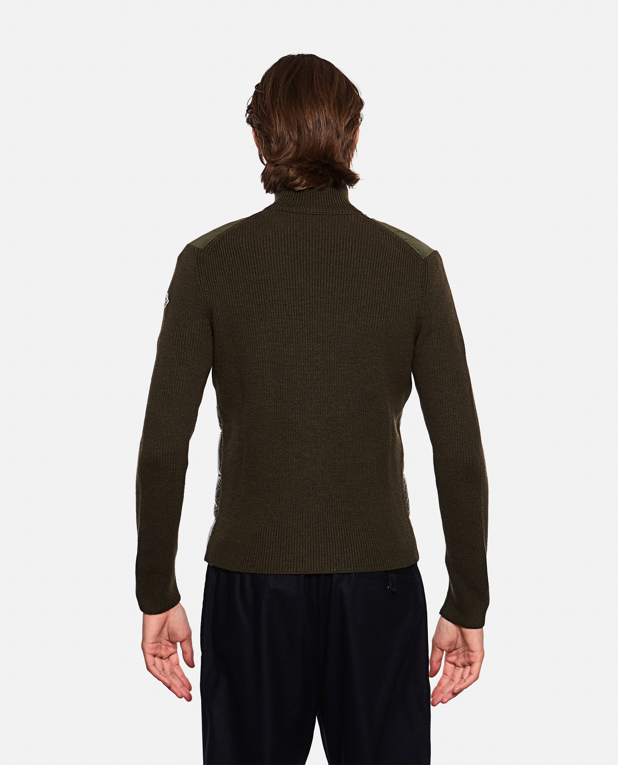 Sweater with padded detail Men Moncler 000271680040024 3