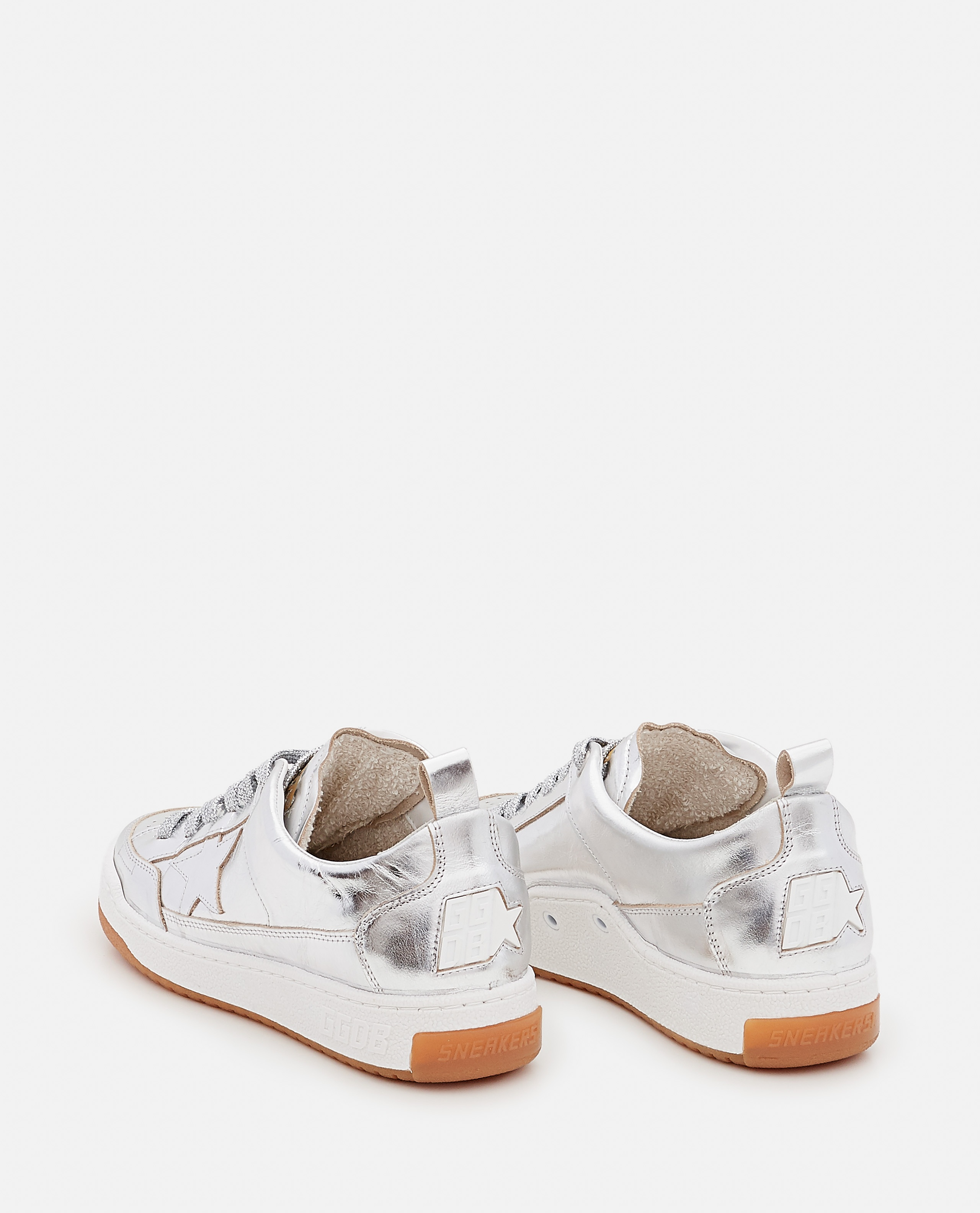 YEAH LAMINATED LEATHER SNEAKERS Women Golden Goose 000322260047121 3