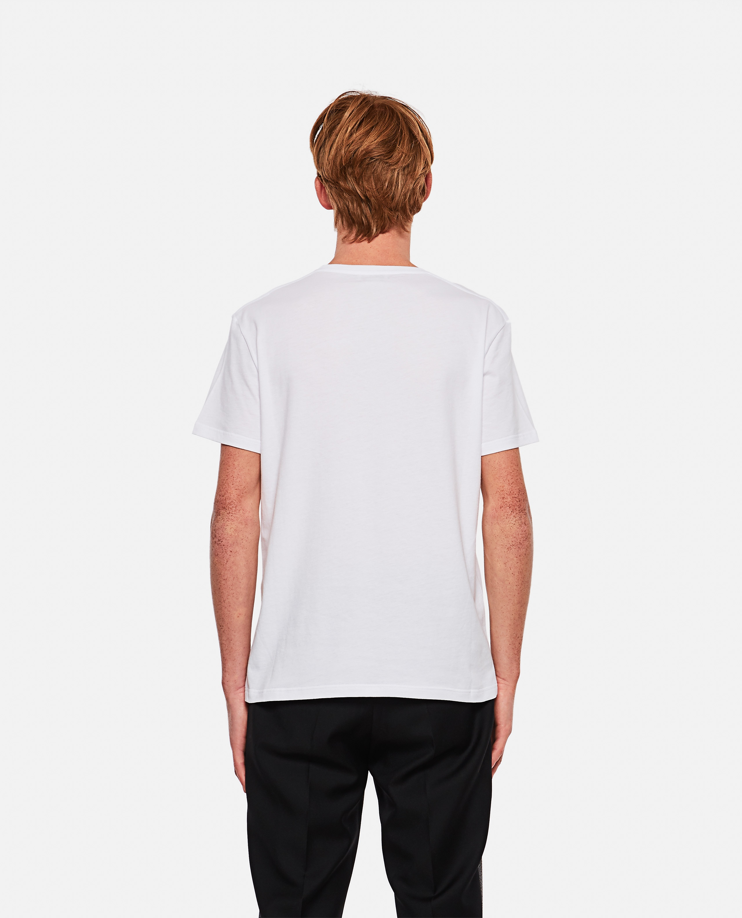 T-shirt with embroidery Men Alexander McQueen 000291000042843 3