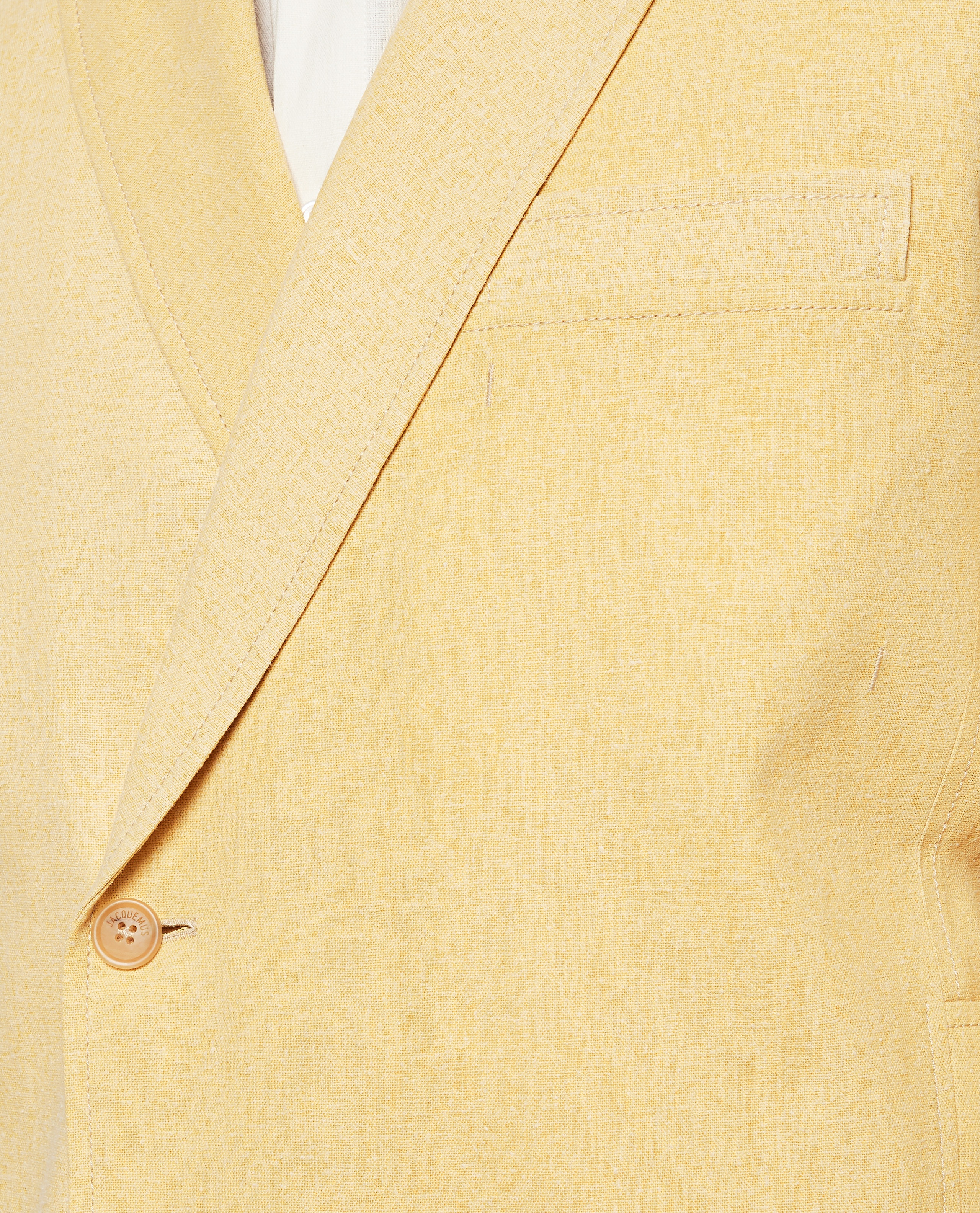 Linen blend jacket The Moulin dress Men Jacquemus 000293620043232 4