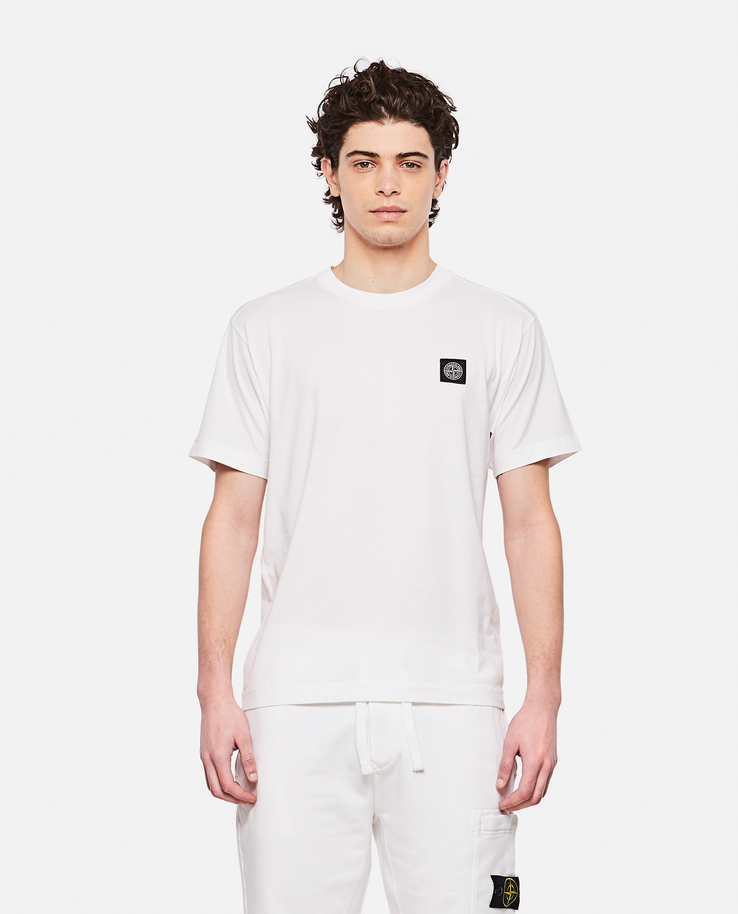 Cotton jersey T-shirt Men Stone Island 000292700043135 1