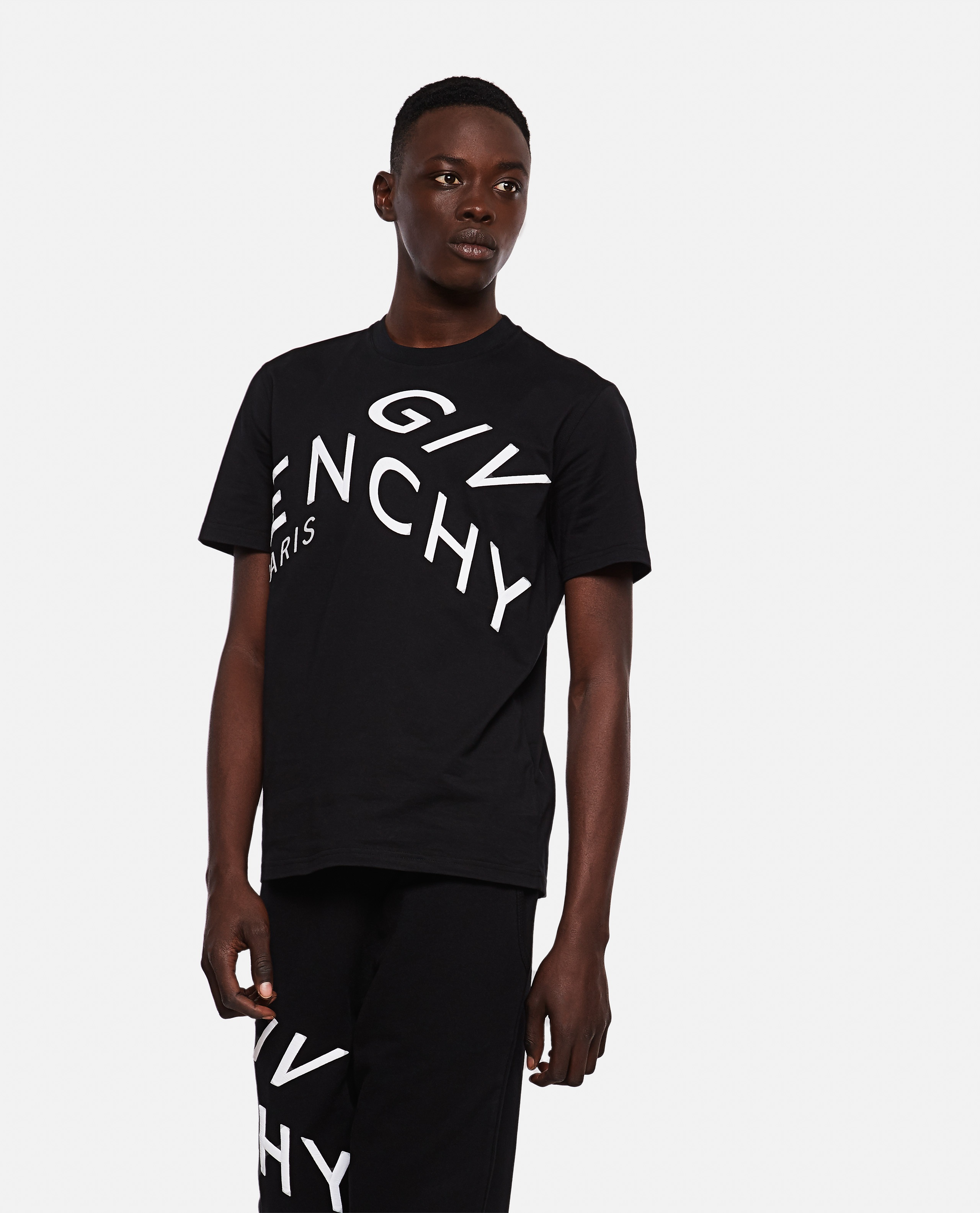 T-shirt with embroidery Men Givenchy 000253100037399 1