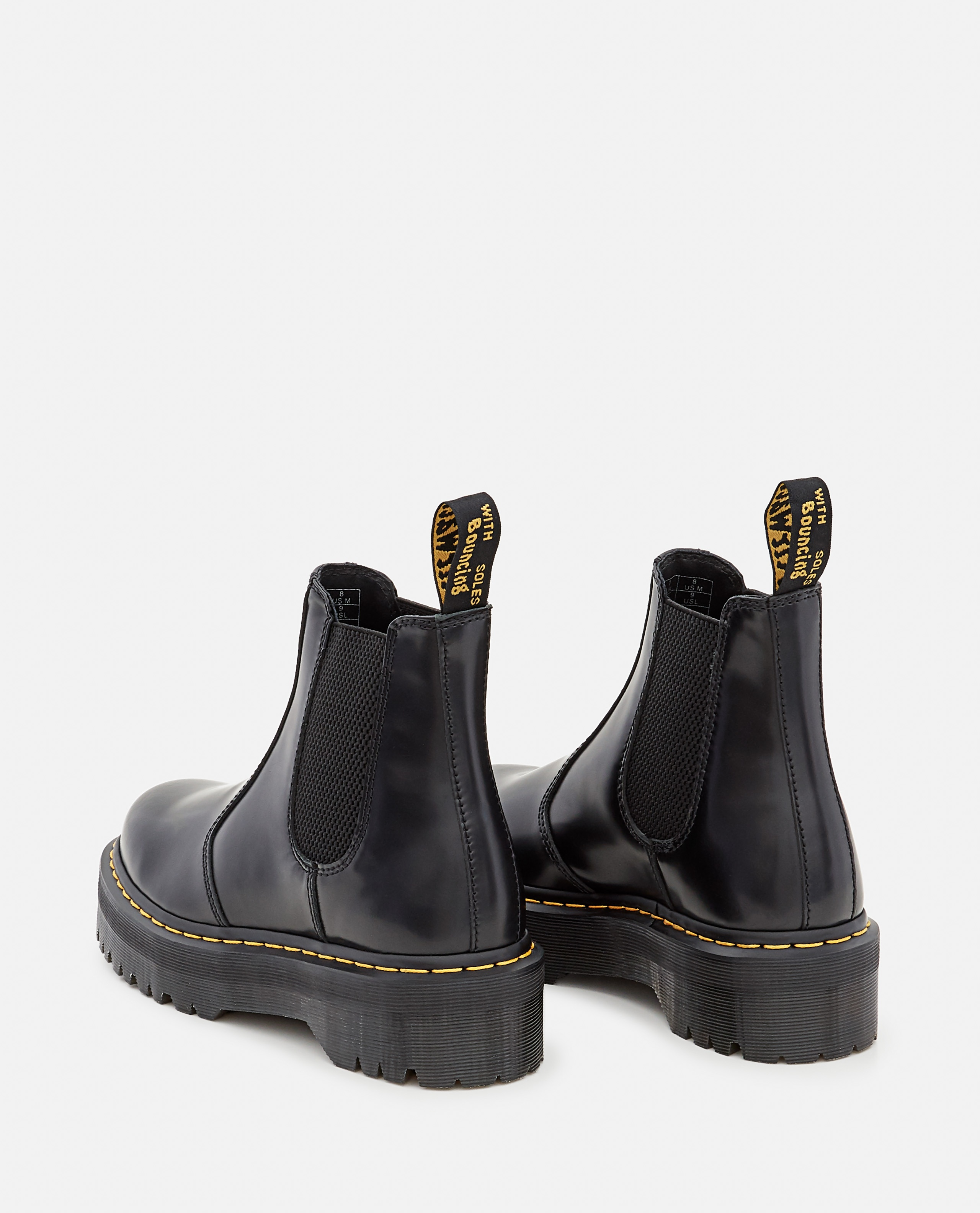 2976 QUAD POLISHED SMOOTH LEATHER CHELSEA BOOTS Women Dr. Martens 000356240051848 3