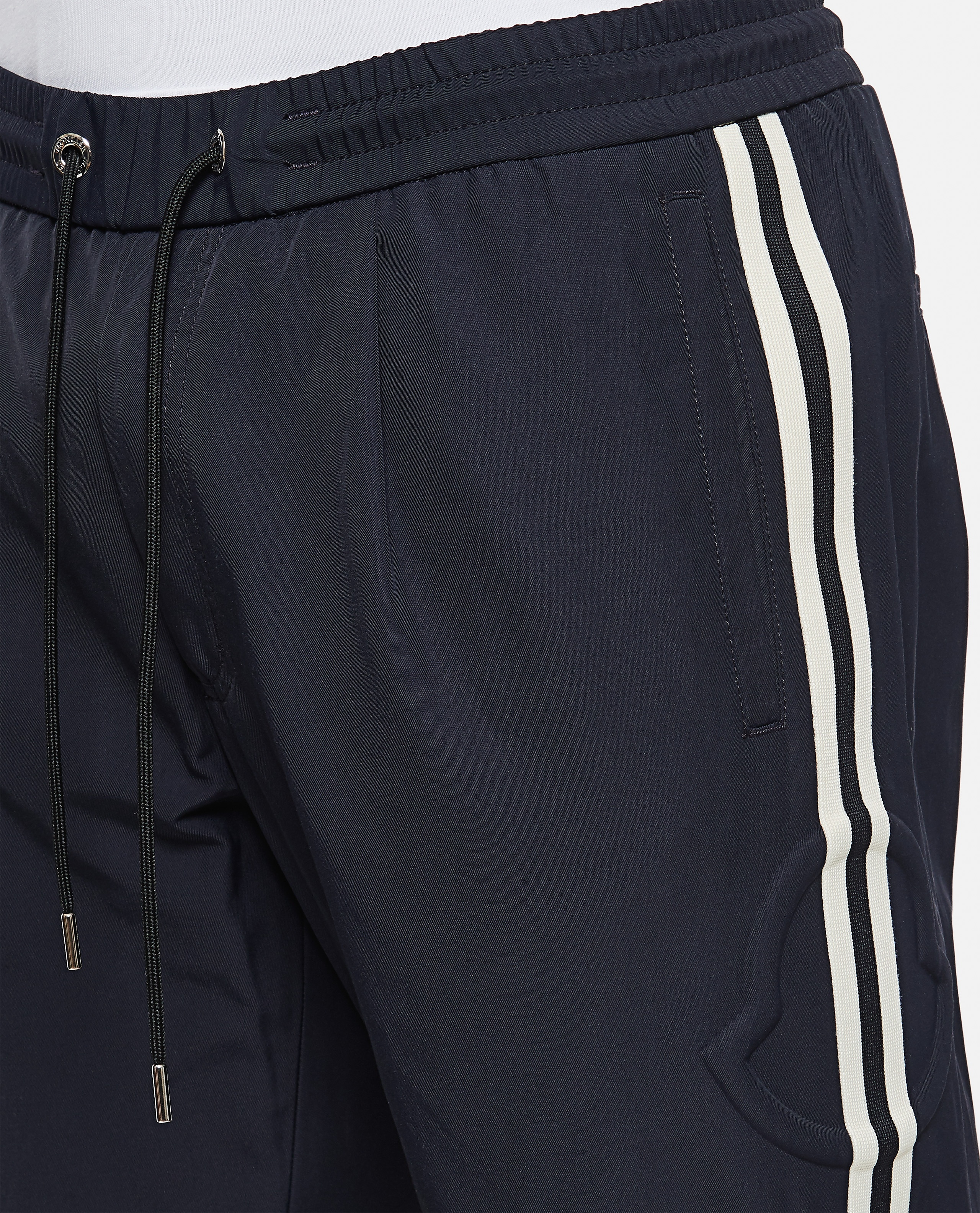 Jogging trousers with side band Men Moncler 000308560045254 4