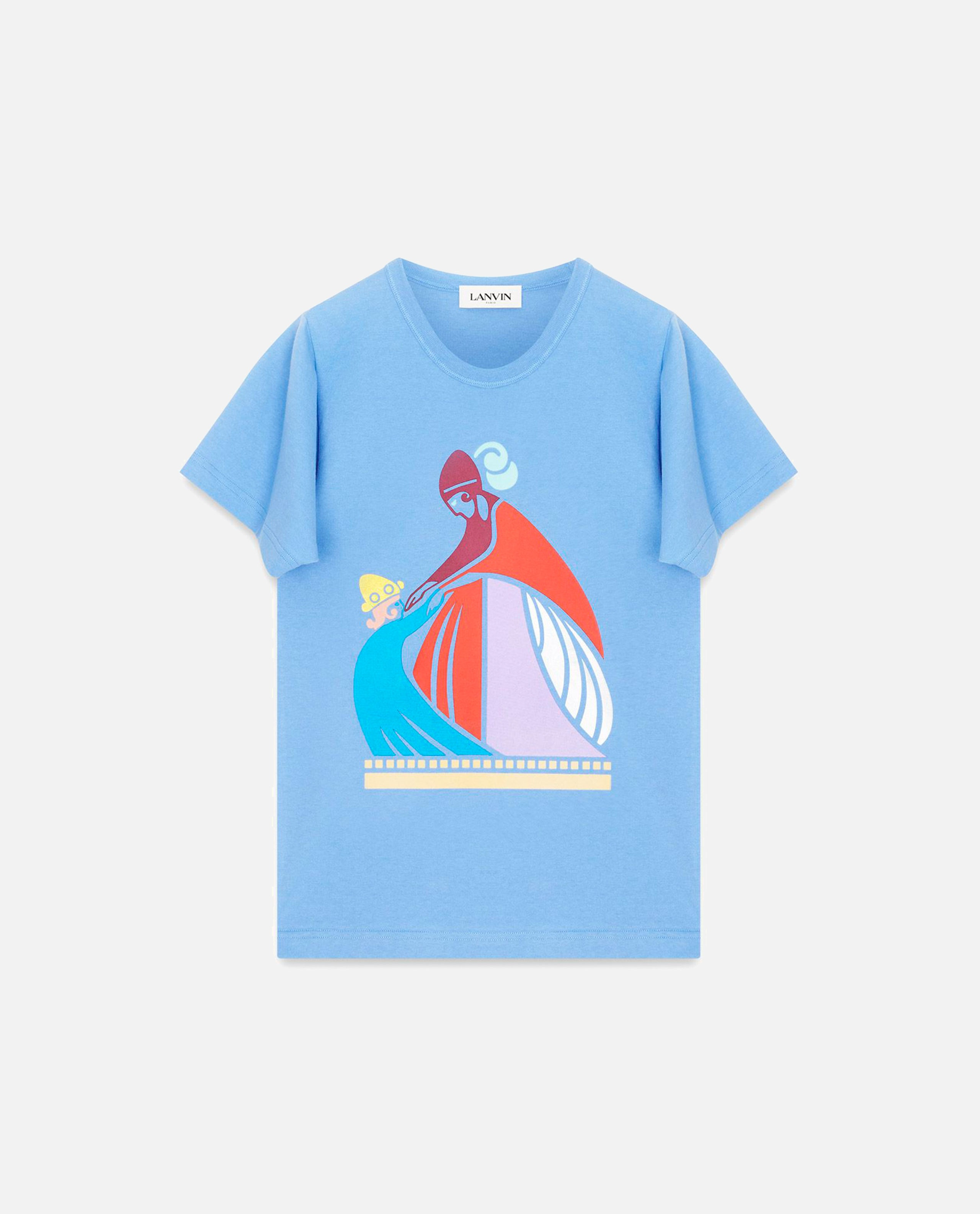"T-shirt with ""Mum and the Girl"" Print Women Lanvin 000242700035905 1"