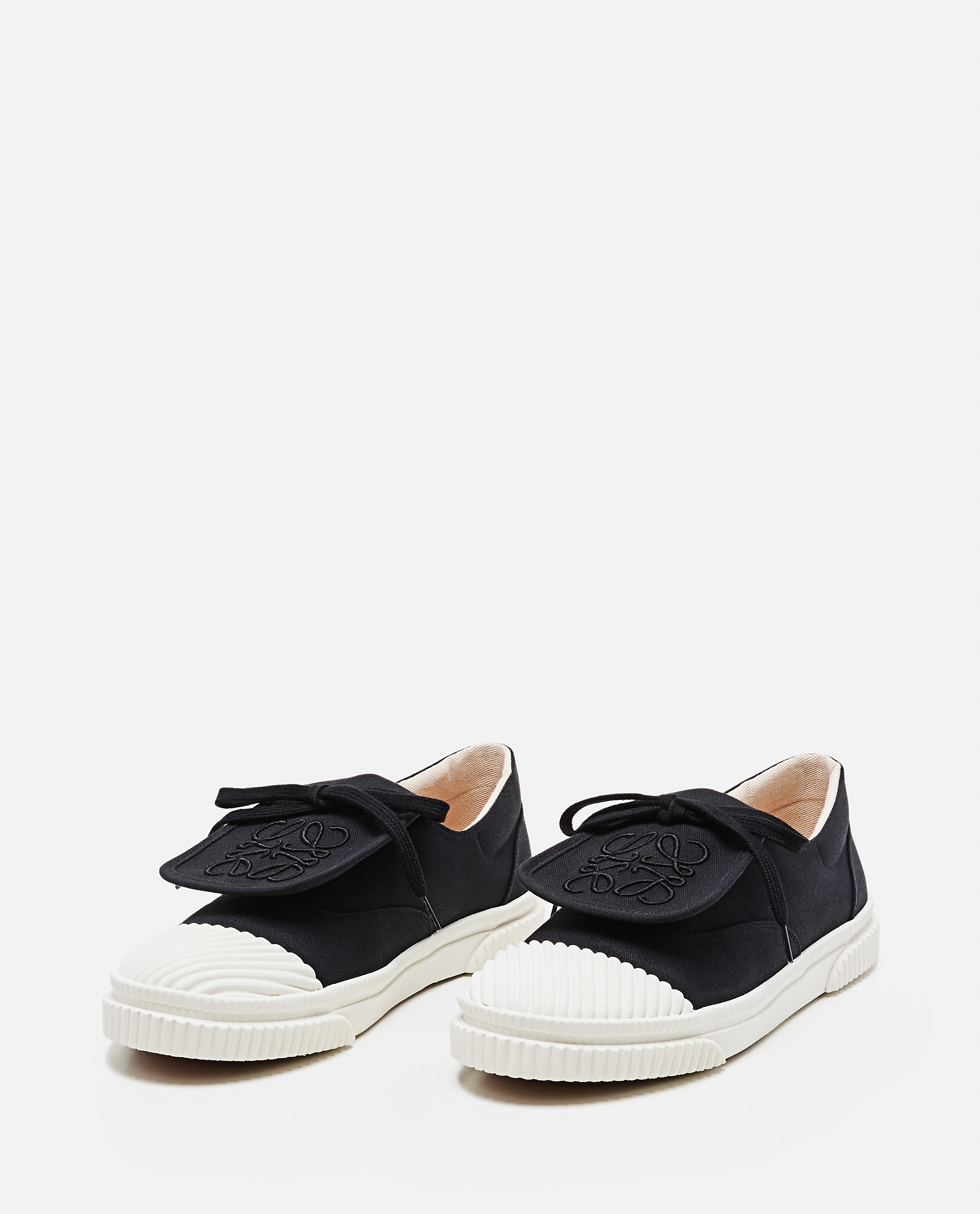 Sneaker con patta Anagram in tela Donna Loewe 000289270042586 2