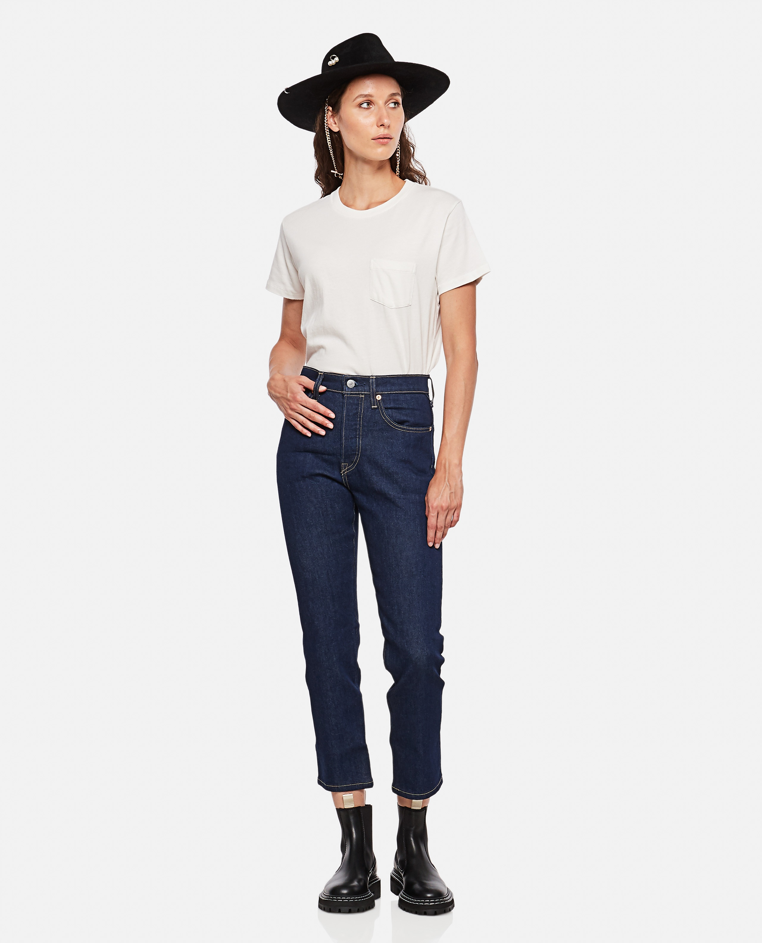 LEVI'S MADE & CRAFTED 501 CROP JEANS Women Levi Strauss & Co. 000352880051346 2