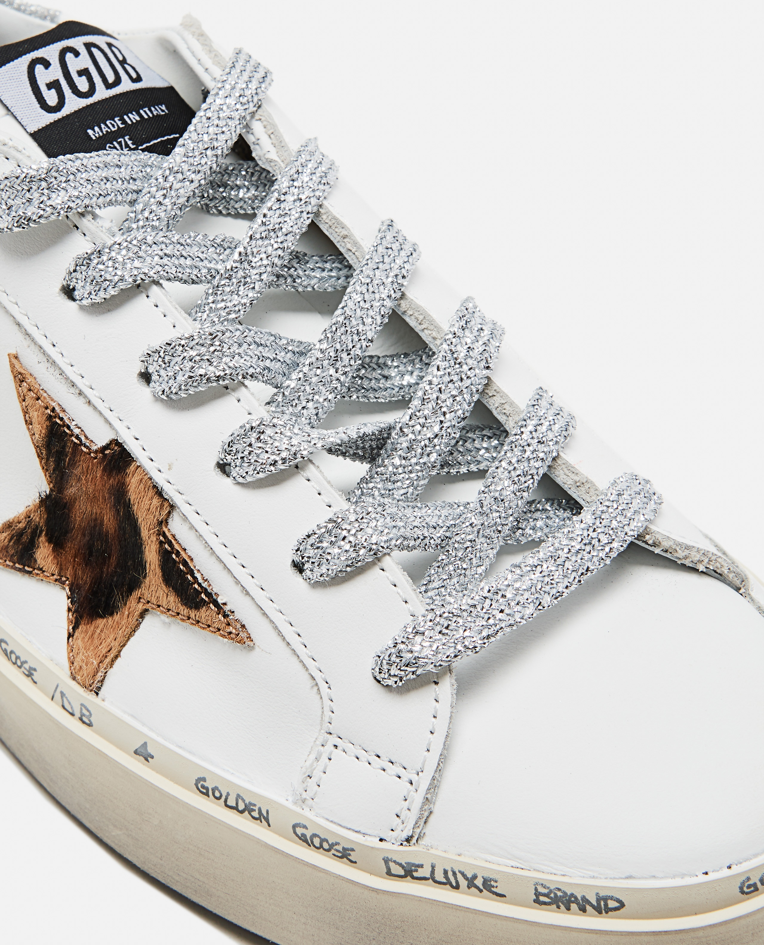 White and animalier Hi Star sneaker Women Golden Goose 000215620031982 4