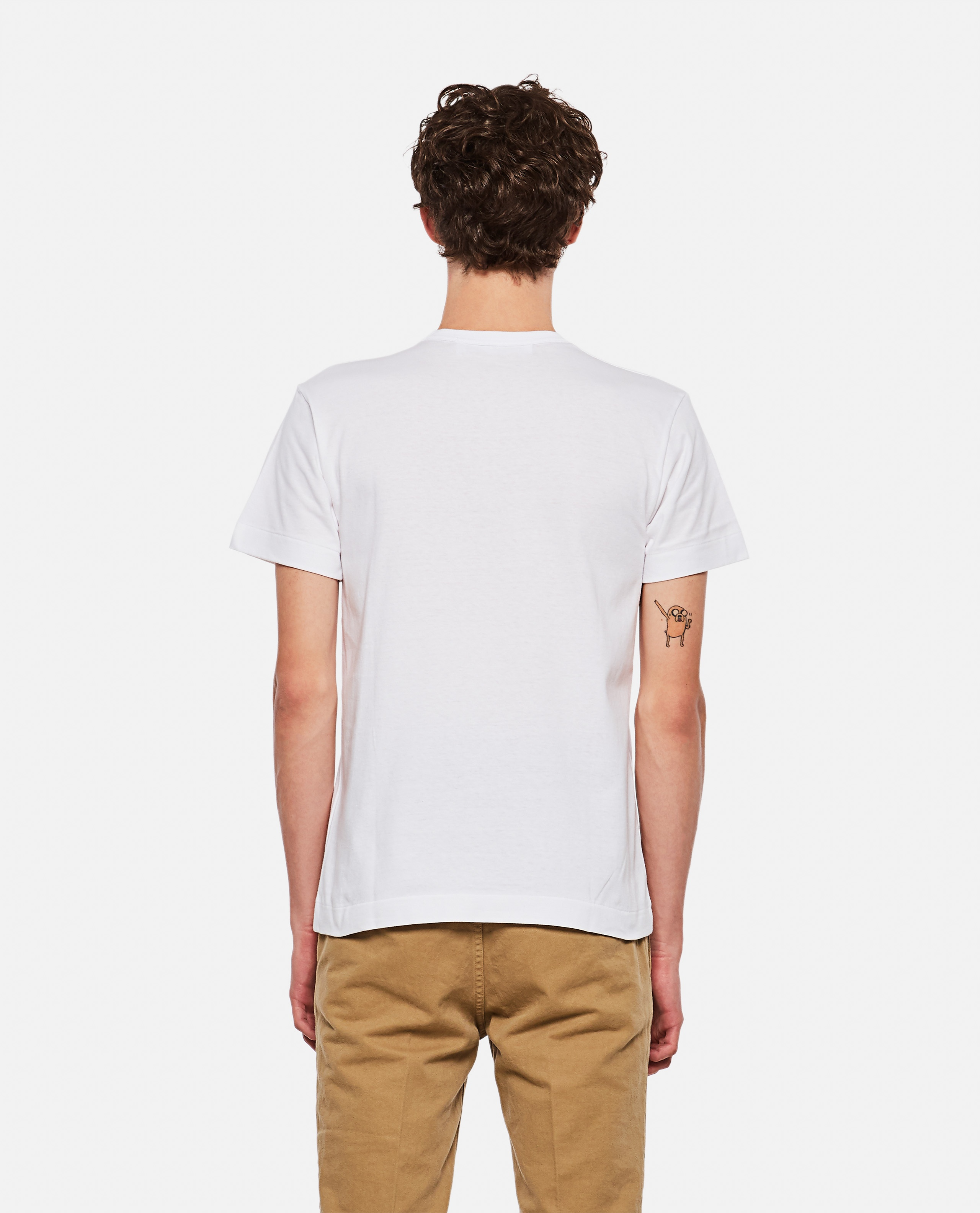 T-shirt with print Men Comme des Garcons Play 000106970016293 3