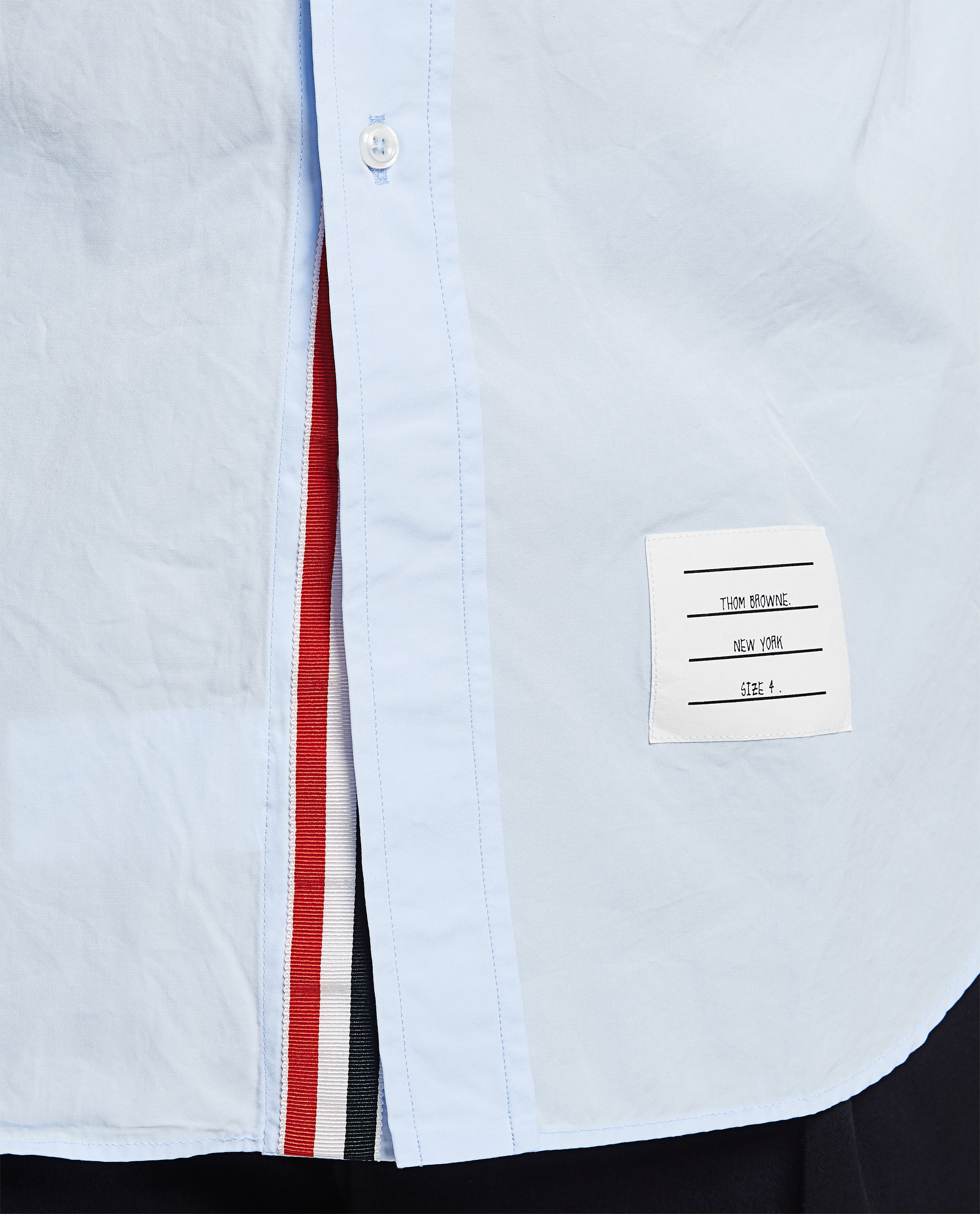Cotton shirt Men Thom Browne 000294570043366 4