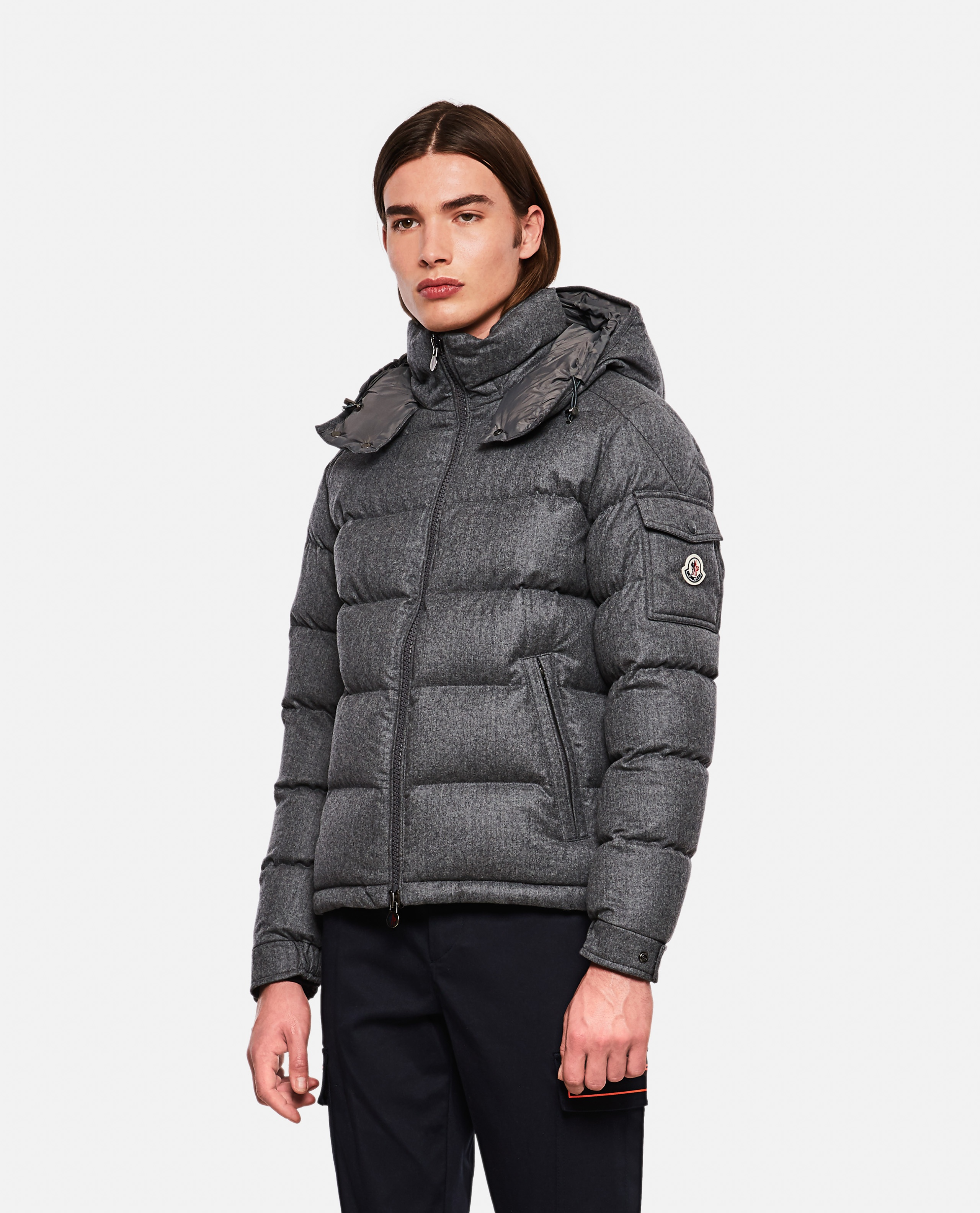 Down jacket with application Men Moncler 000271310039971 1