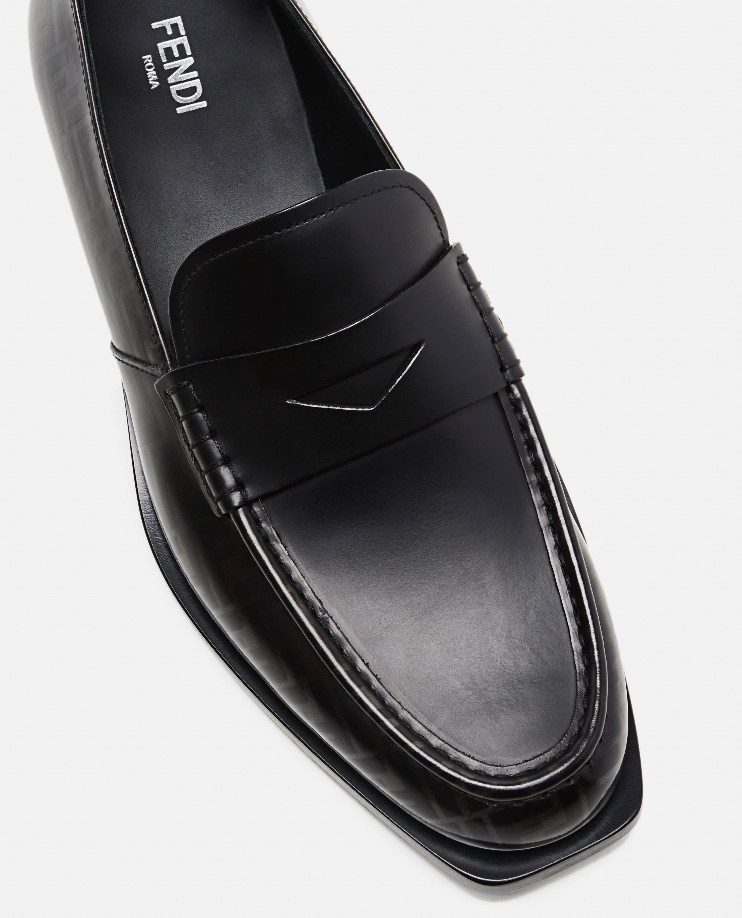 Loafers with FF motif Men Fendi 000220150032575 4