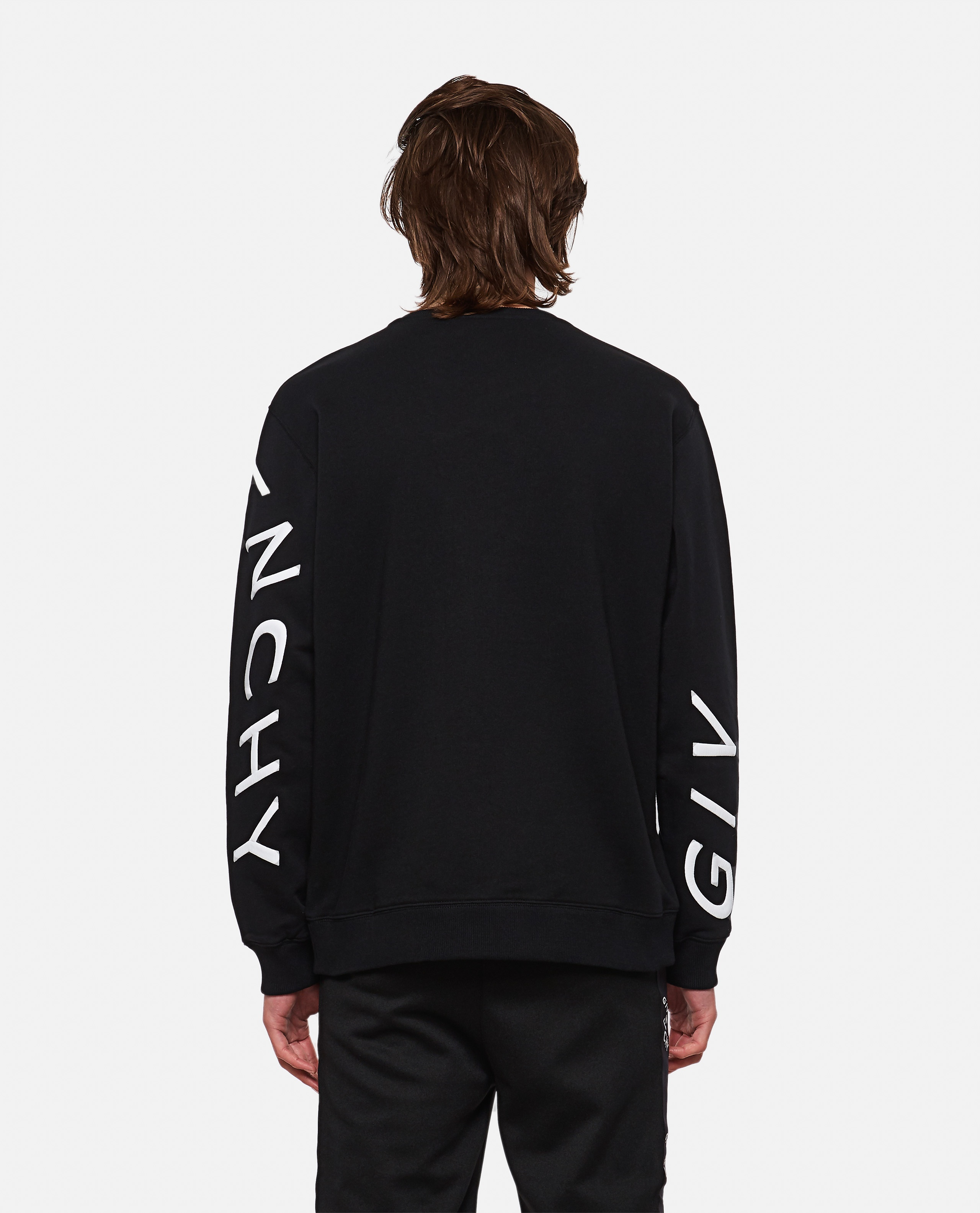 Refracted sweatshirt with embroidery Men Givenchy 000302000044348 3