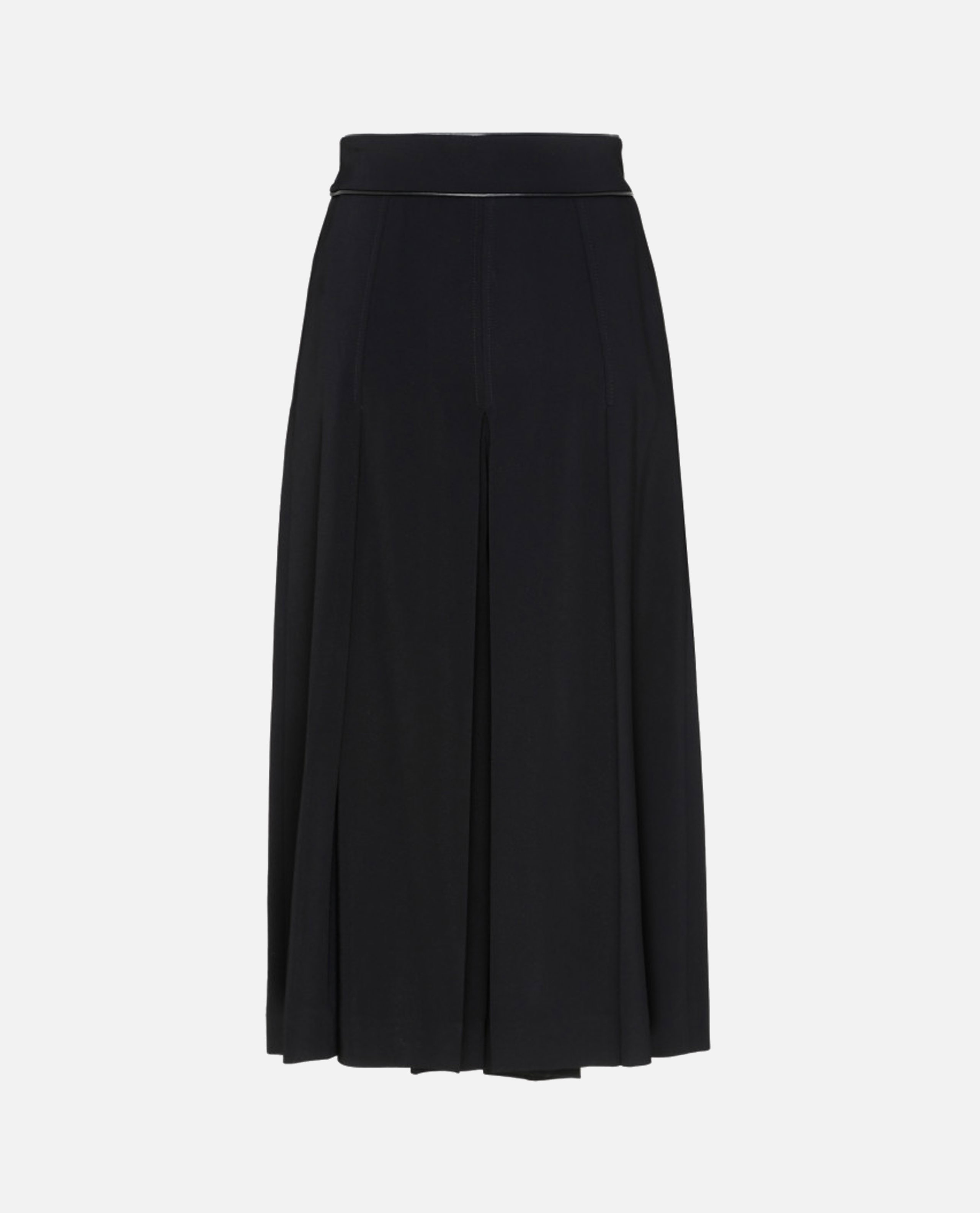 Culotte trousers with black horsebit Women Gucci 000219730032523 2