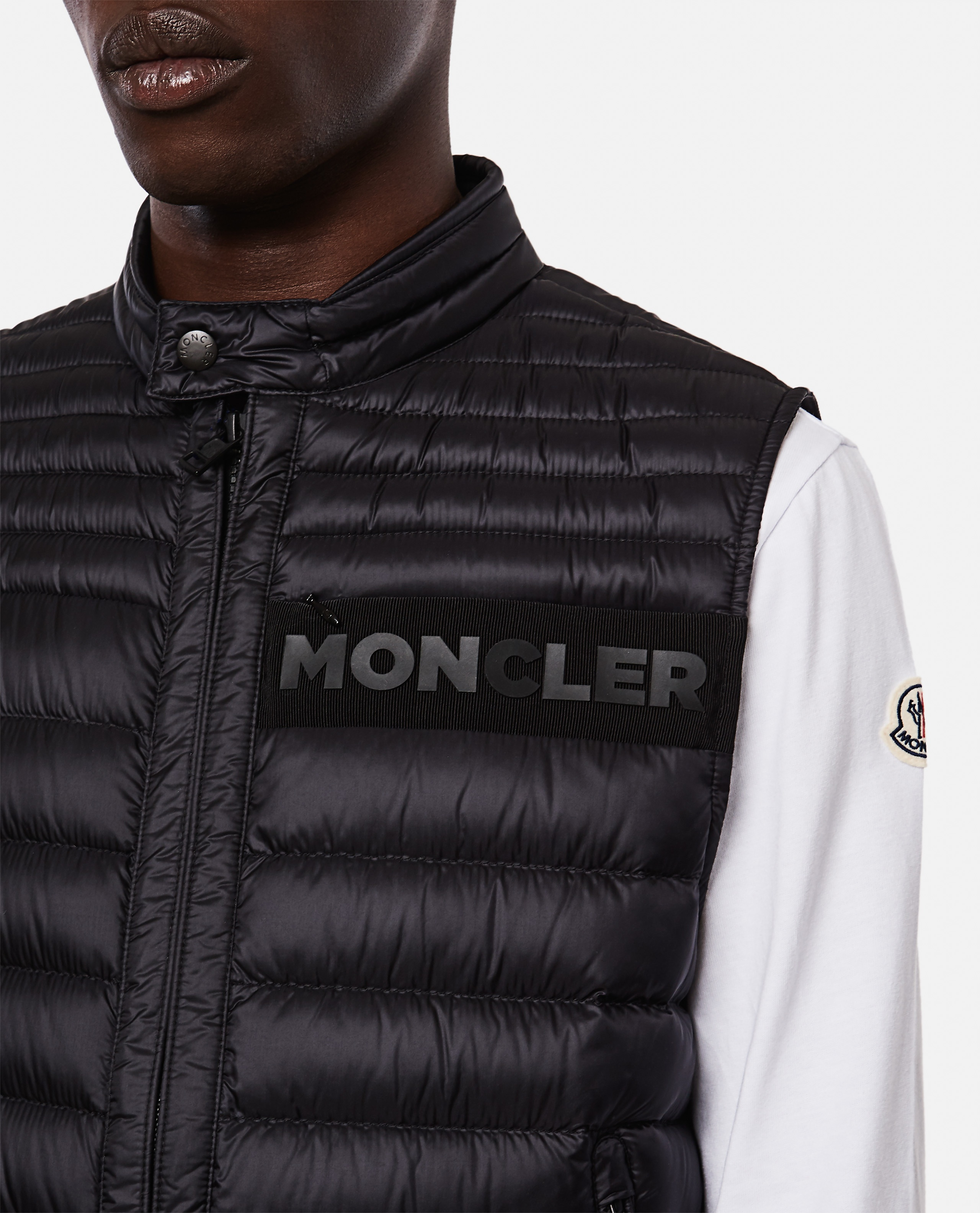 Padded vest Men Moncler 000308510045249 4