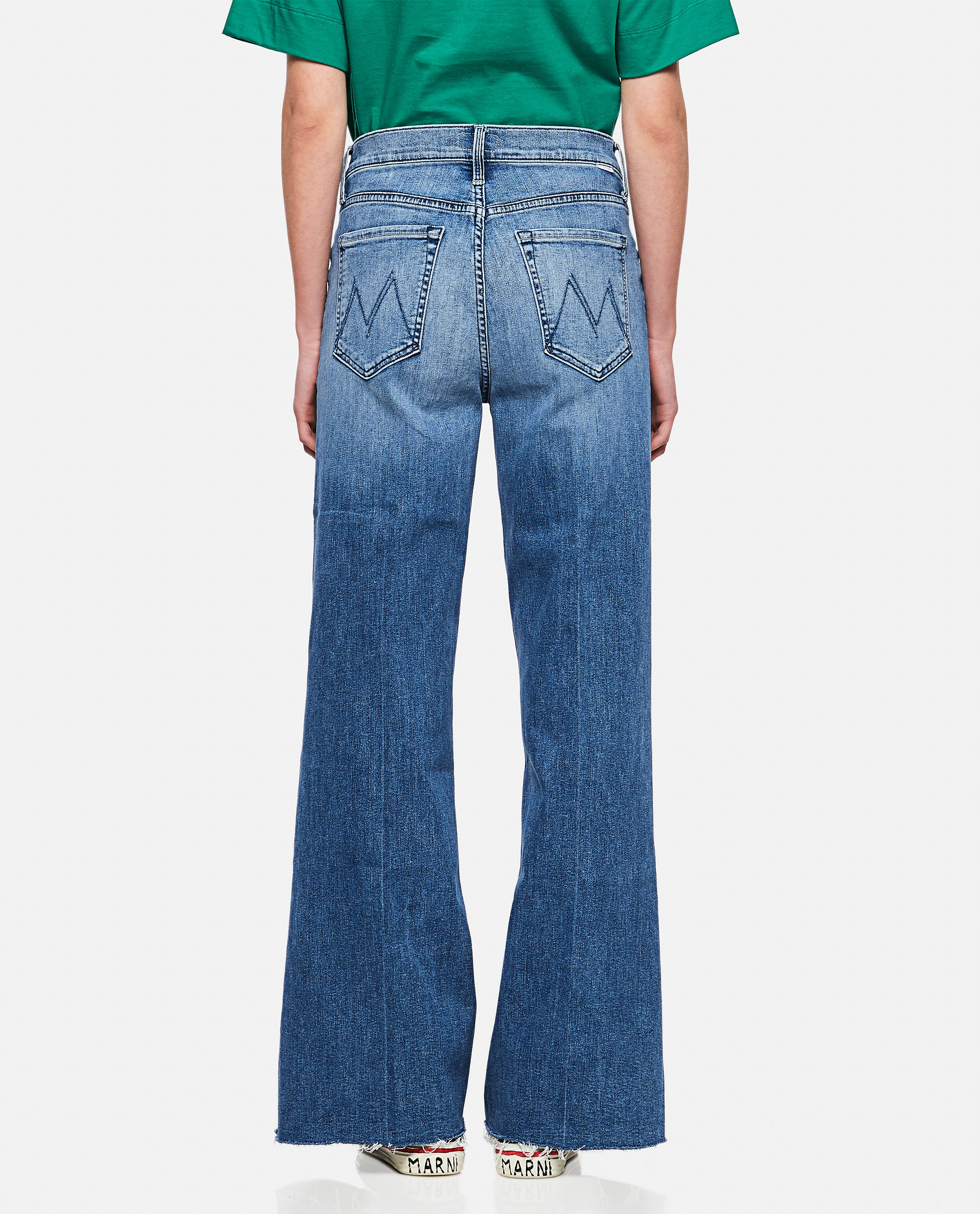 """""""The Tomcat Roller Fray"""" Jeans Donna Mother 000289930042707 3"""