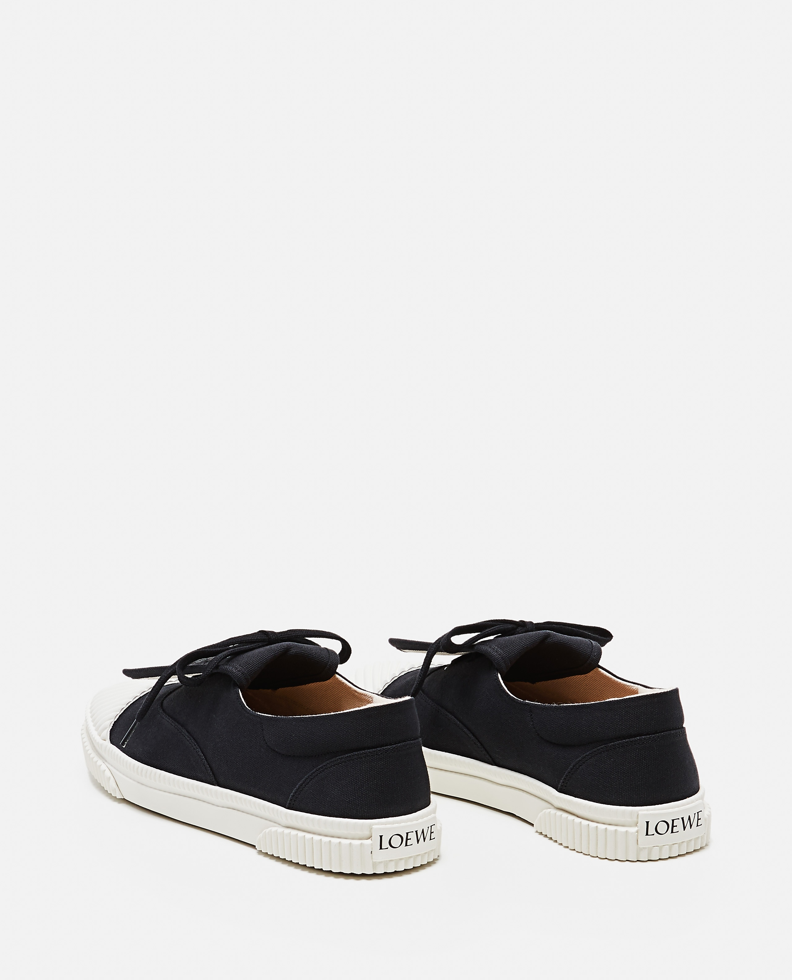 Sneaker con patta Anagram in tela Donna Loewe 000289270042586 3