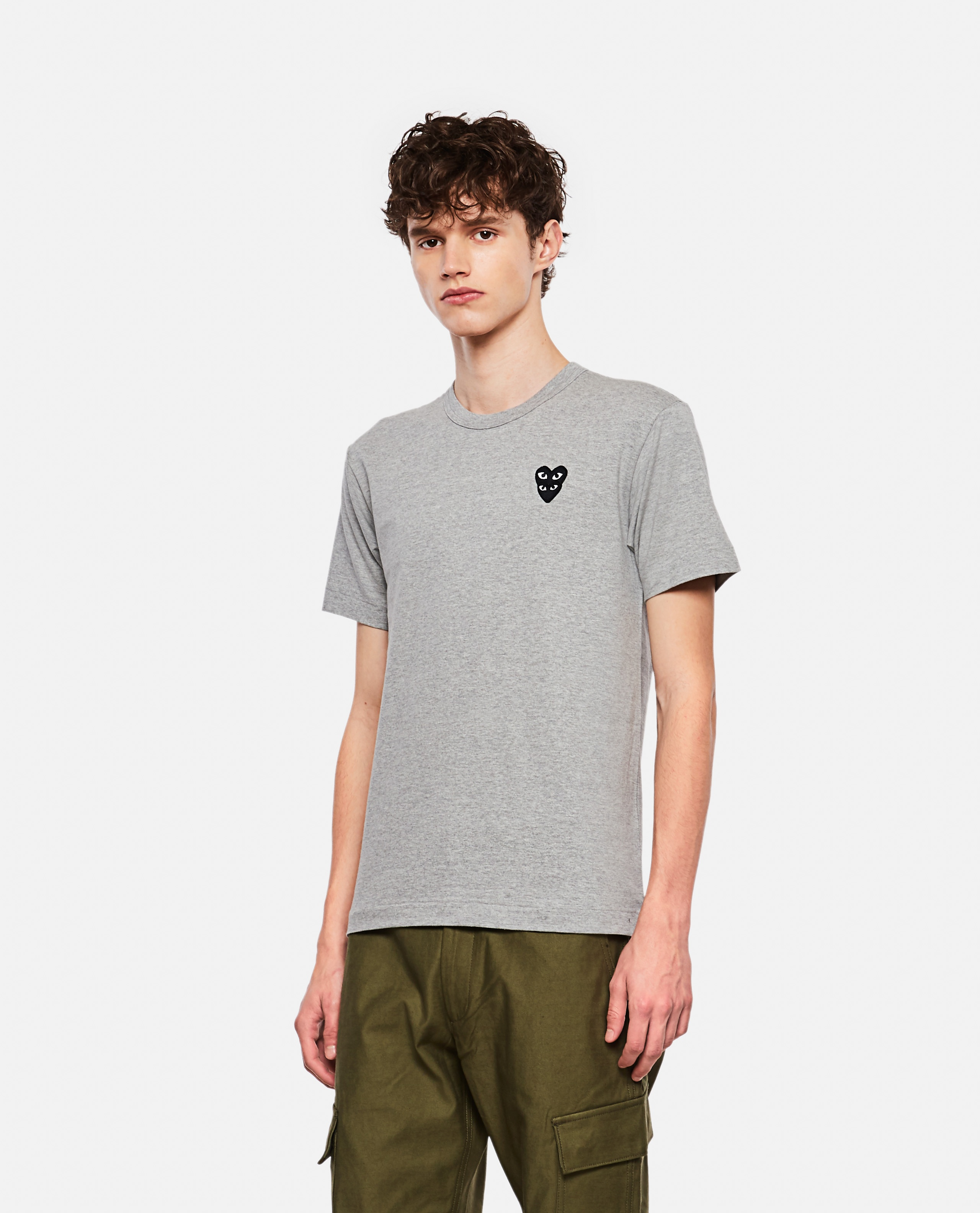 T-shirt with hearts Men Comme des Garcons Play 000267350039449 1
