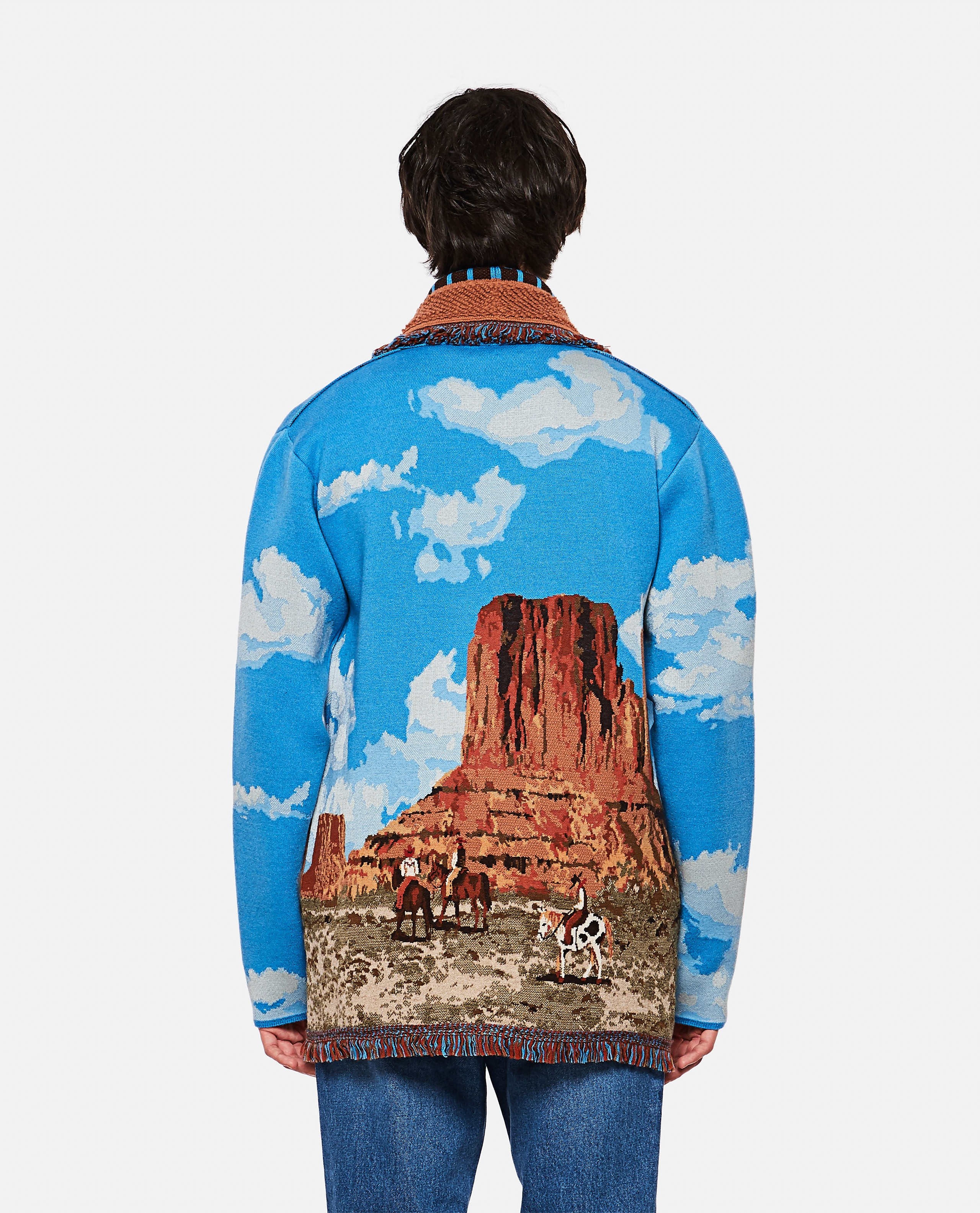 The Monument Valley Cashmere Cardigan Men Alanui 000305730044830 3