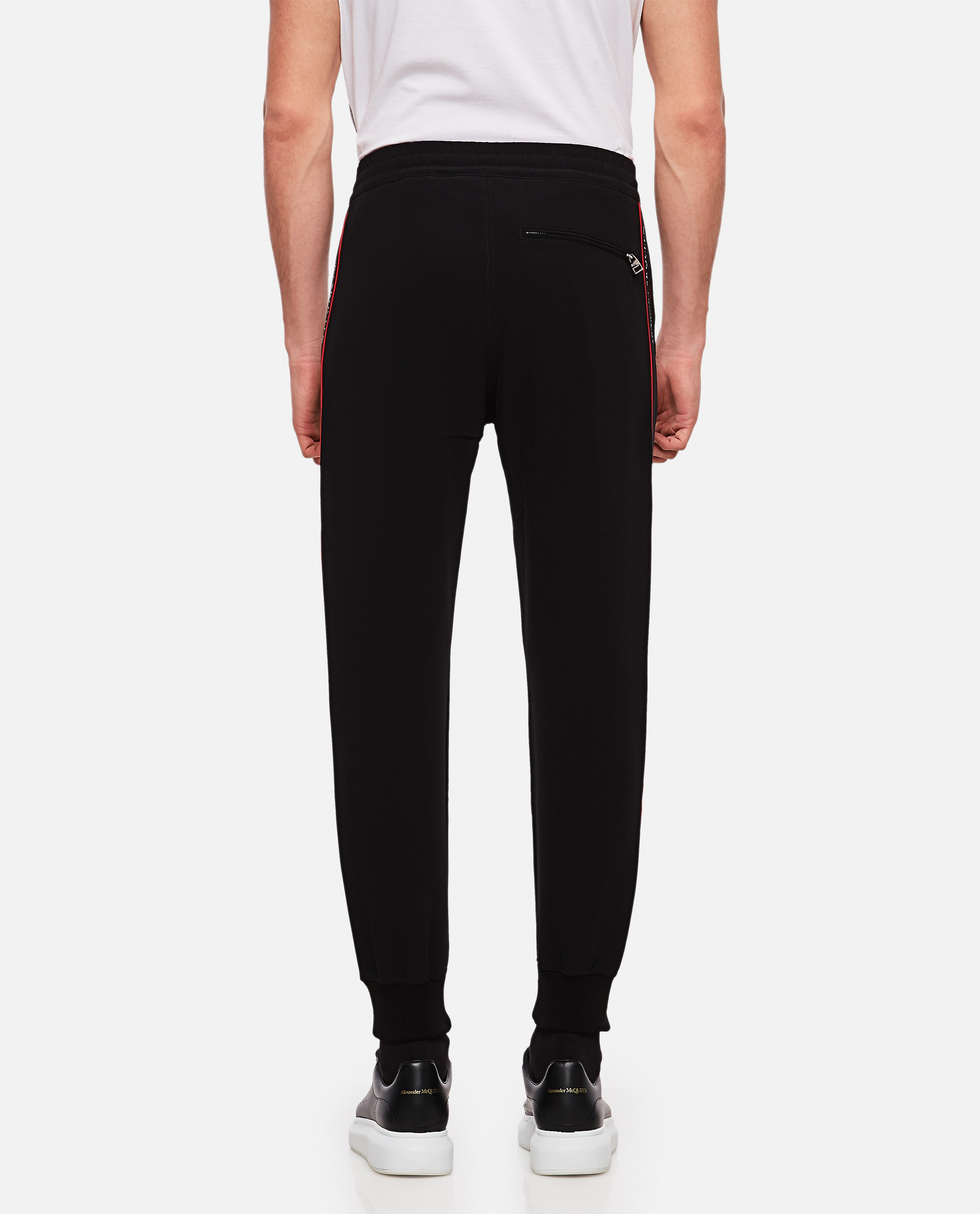 Sports trousers with side tape Men Alexander McQueen 000214950031908 3