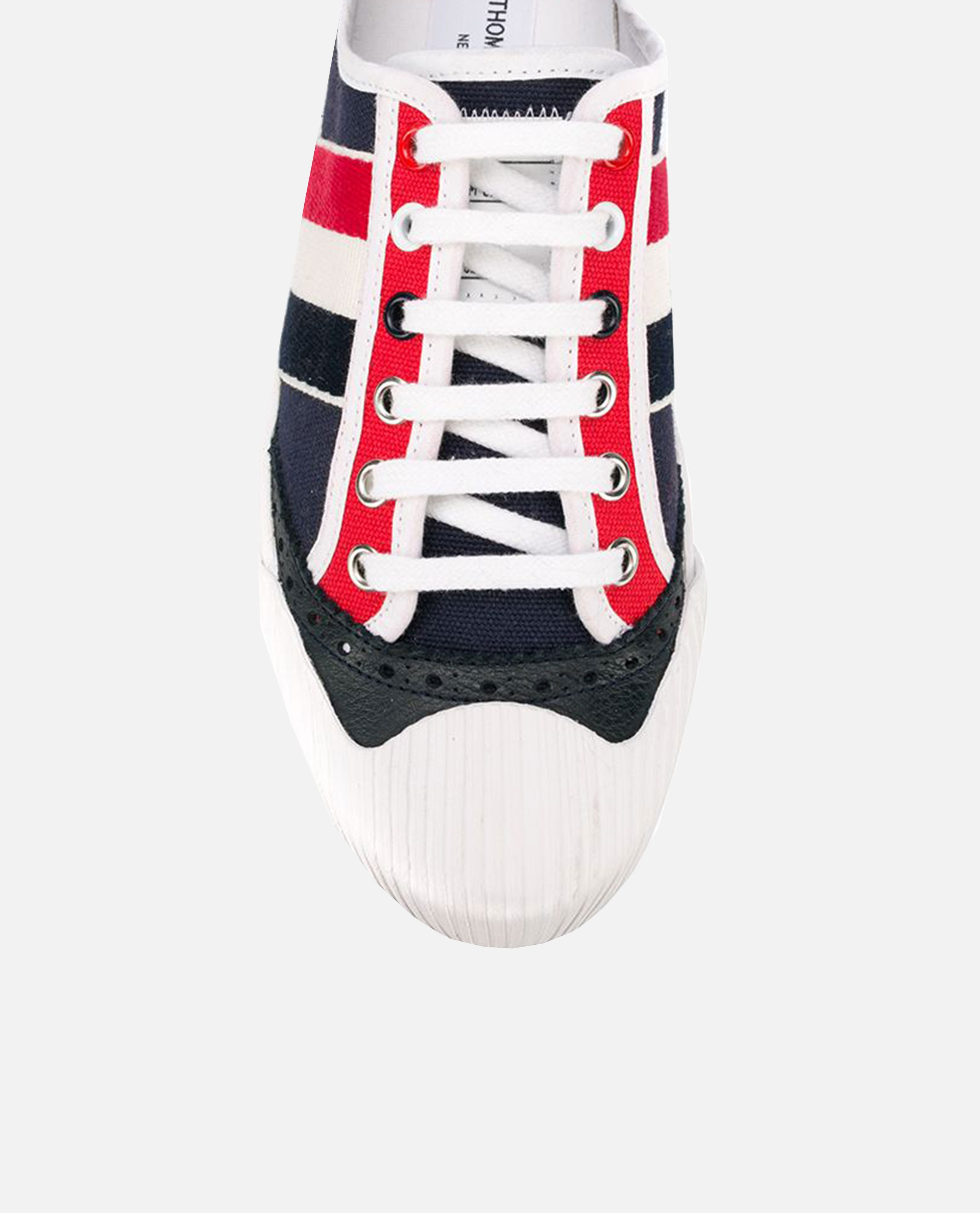 Sneakers con righe Donna Thom Browne 000216130032105 2